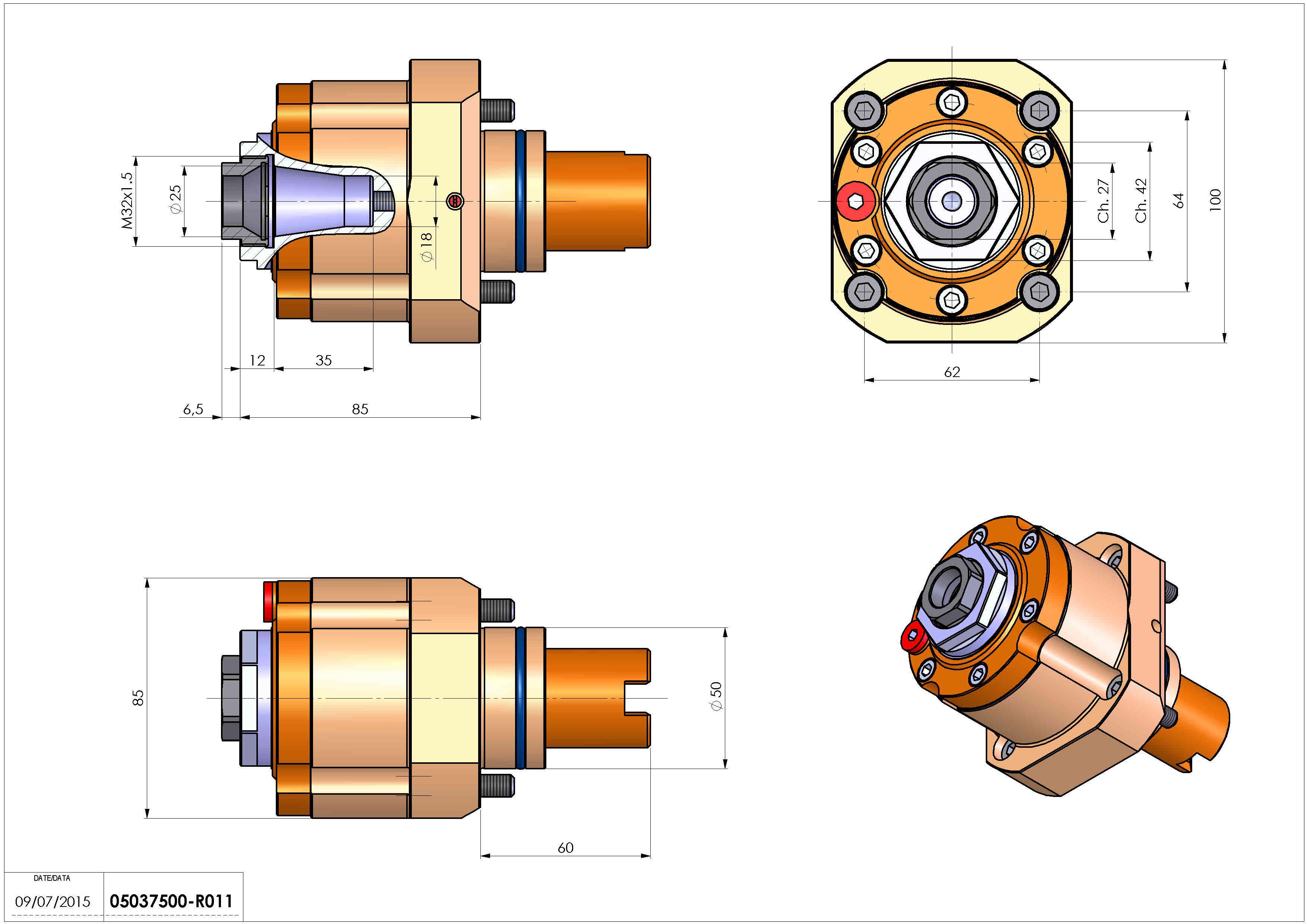 Technical image - LT-S D50 ER25F RF H85.
