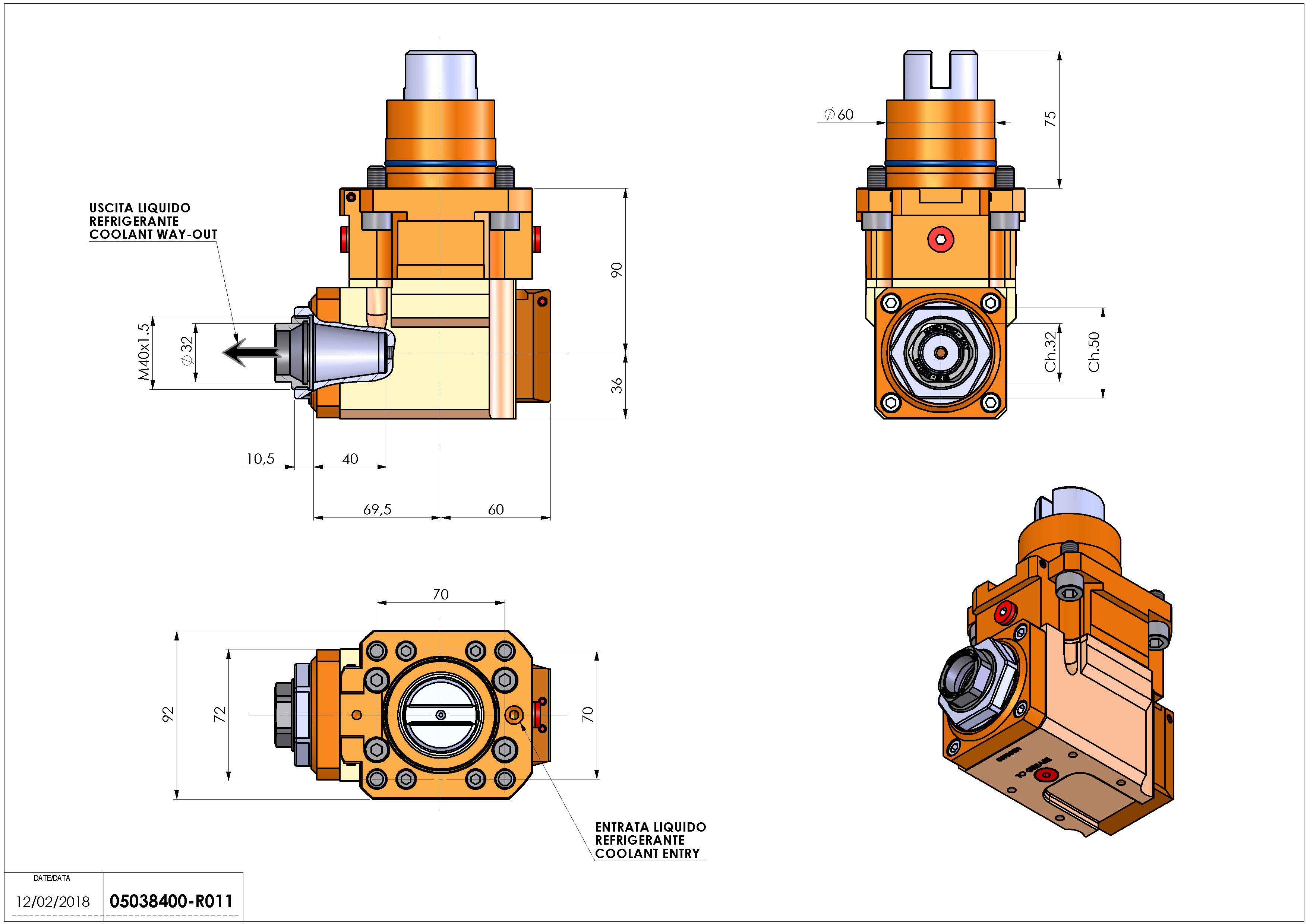 Technical image - LT-A D60 ER32F RF 2:1 H90.