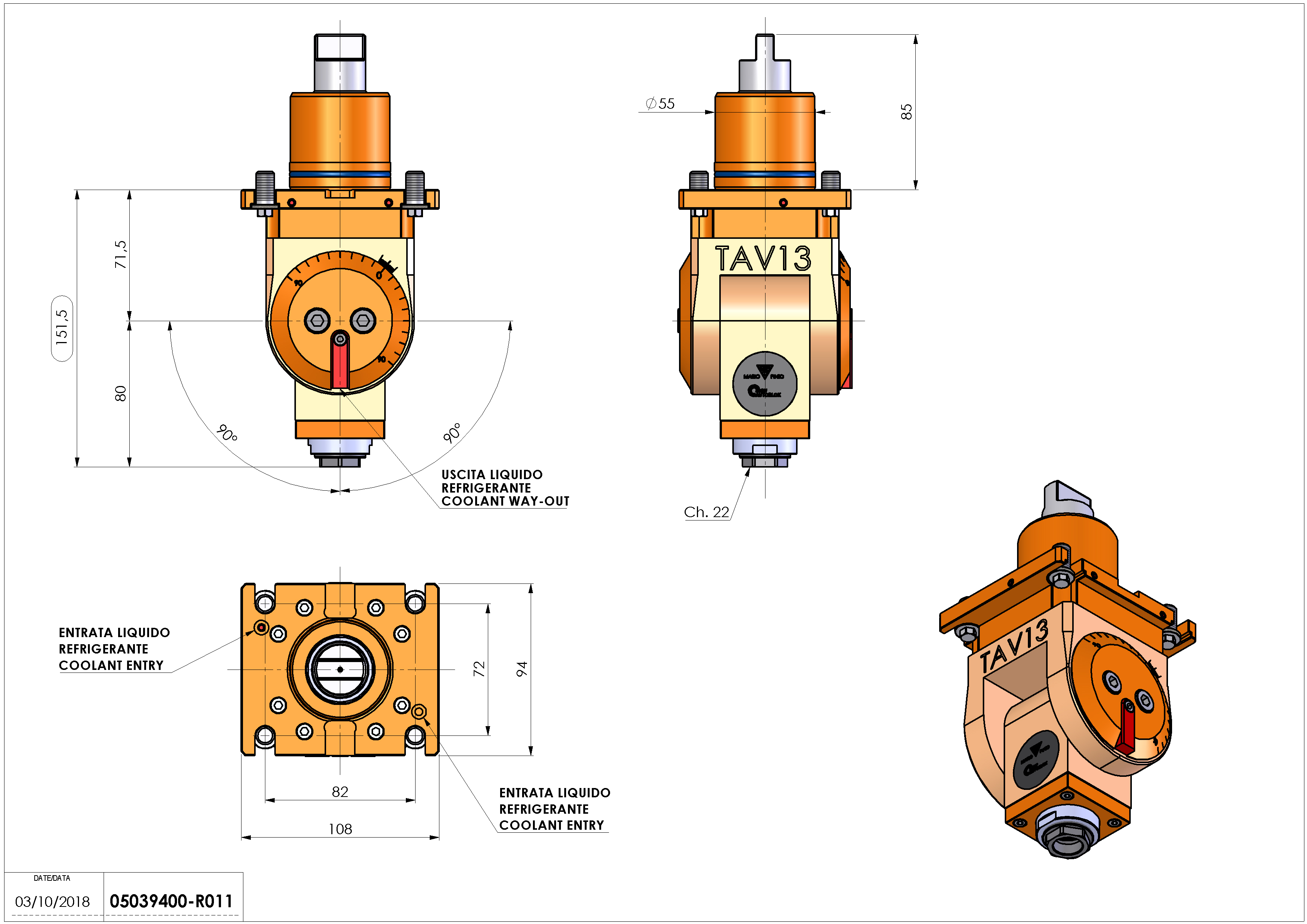Technical image - LT-T D55 ER20F H72-152.