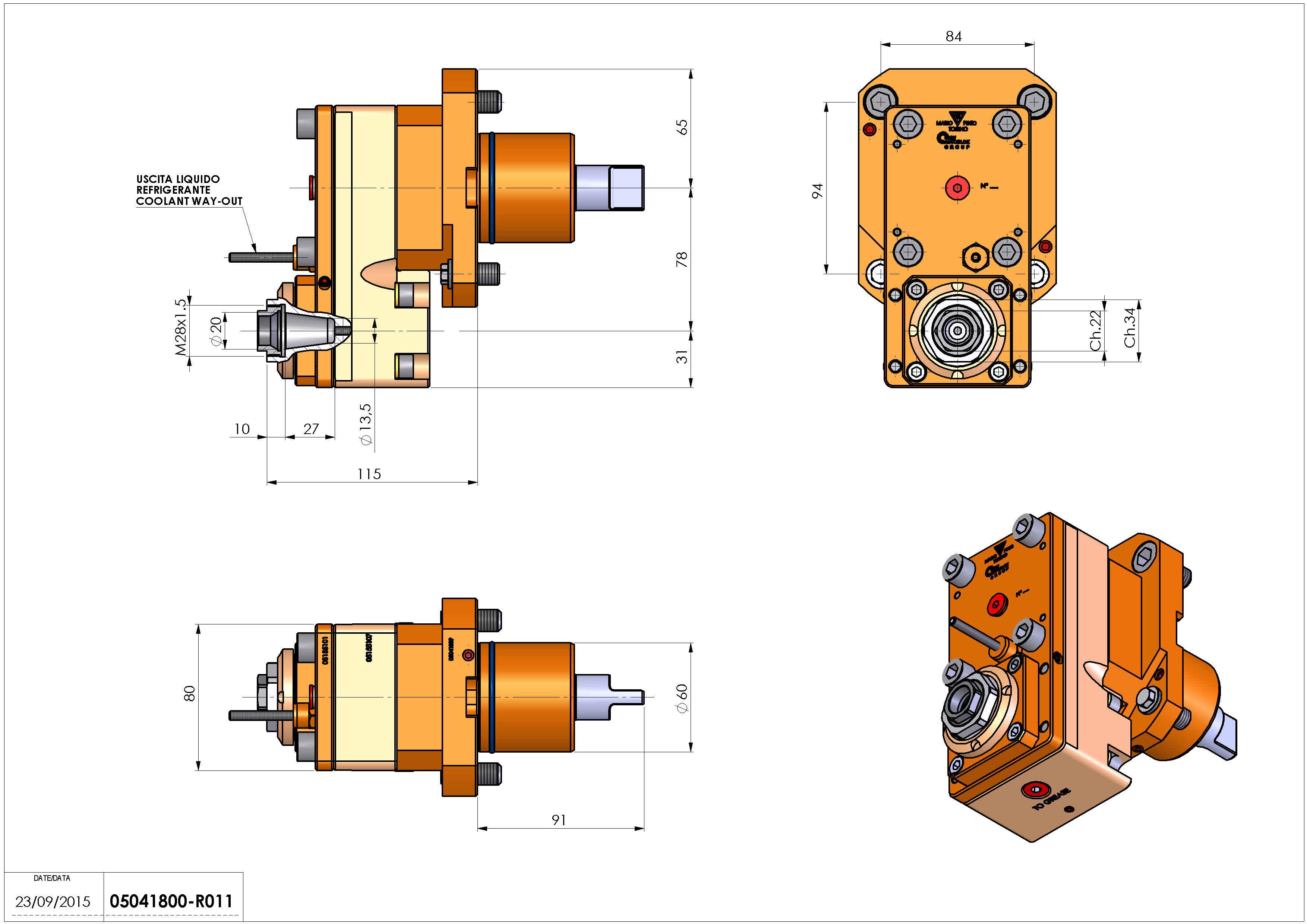 Technical image - LT-S D60 ER20FOF78LR1:3 H115.