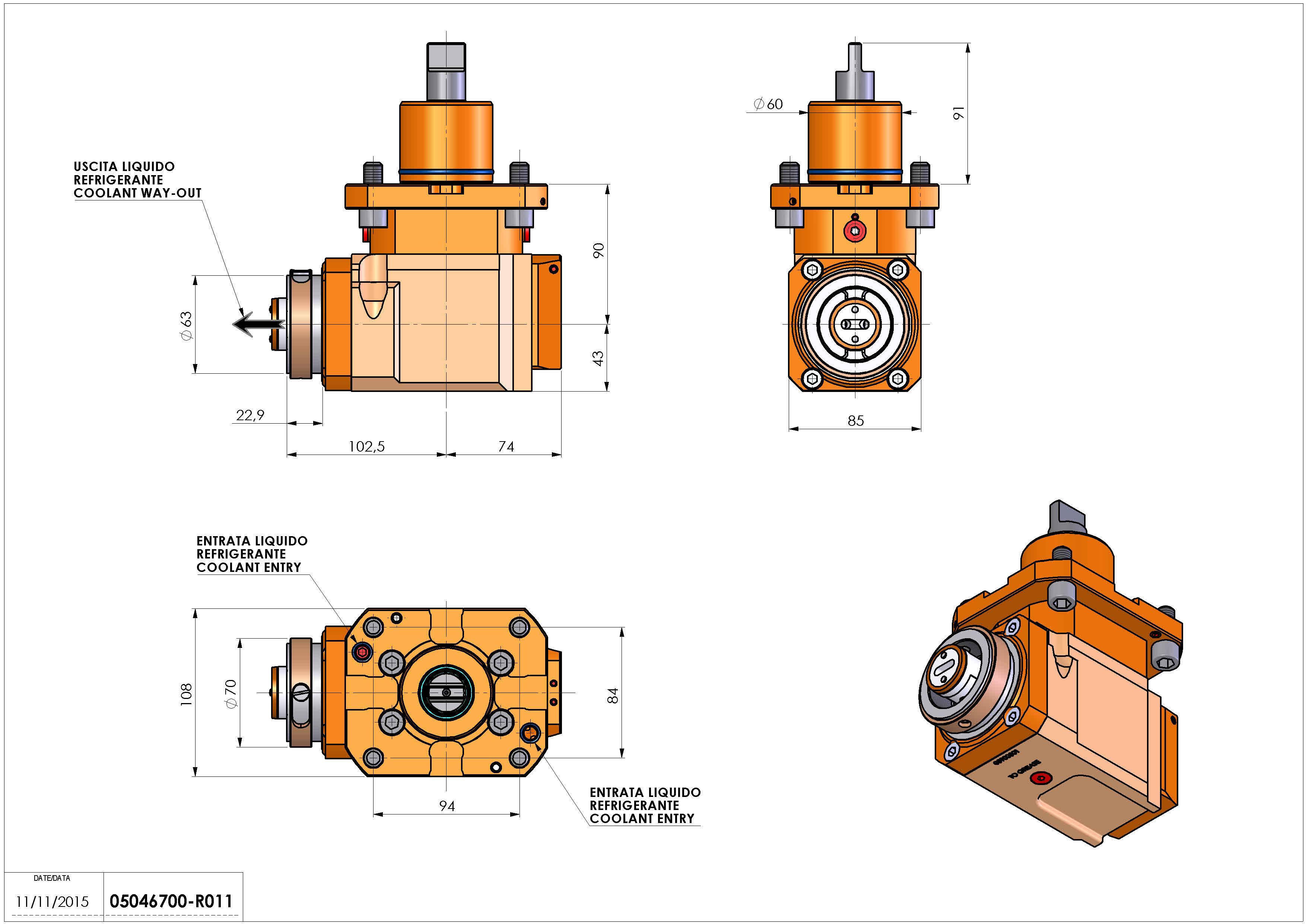 Technical image - LT-A D60 HSK63 LR HS HRF H90.