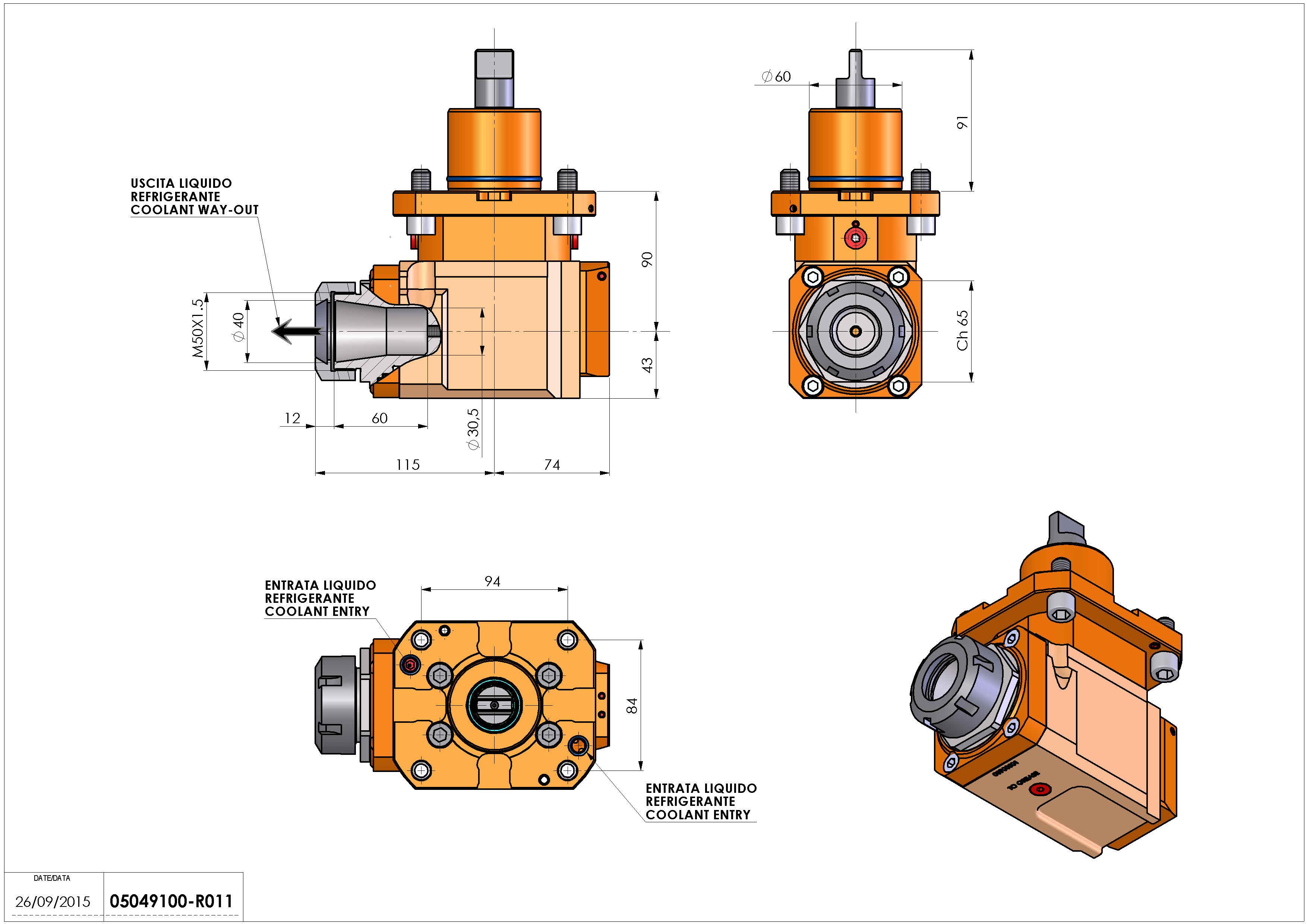 Technical image - LT-A D60 ER40 LR RF H90.