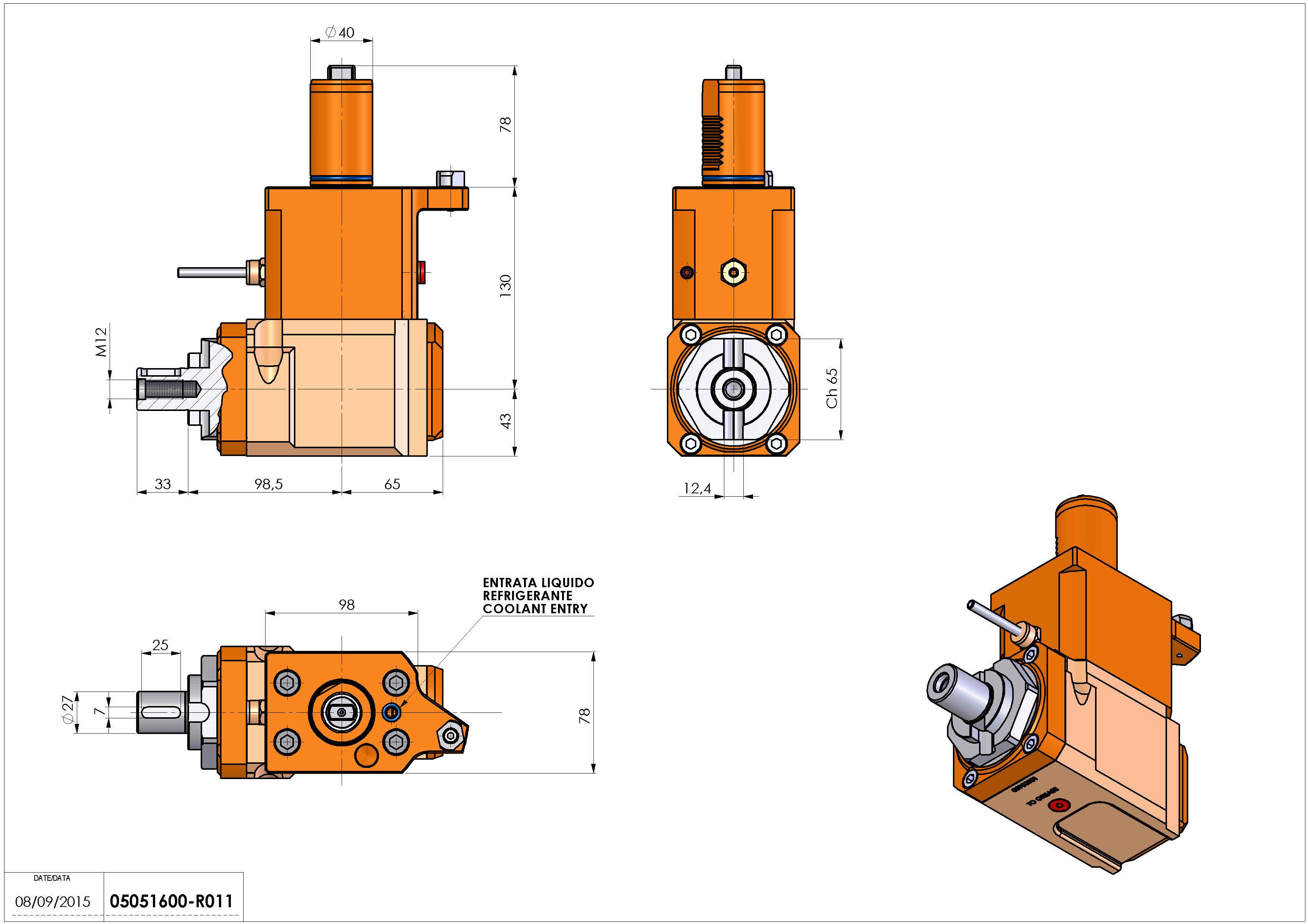 Technical image - LT-A VDI40 DIN138-27 L H130 MZ.