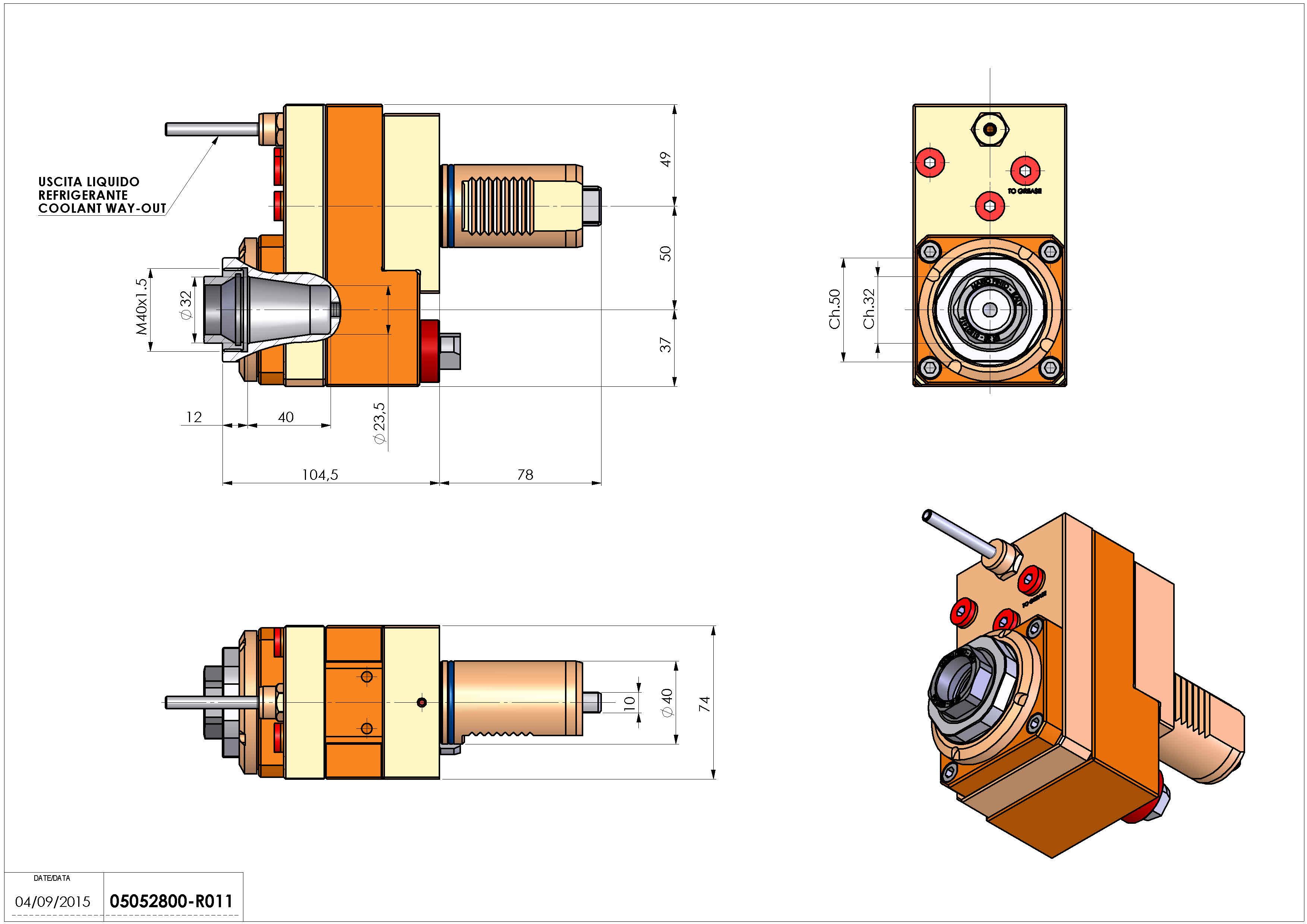 Technical image - LT-S VDI40ER32FOFS50H105 MLTMZ H117 MAZAK MULTIPLEX 6200 625.