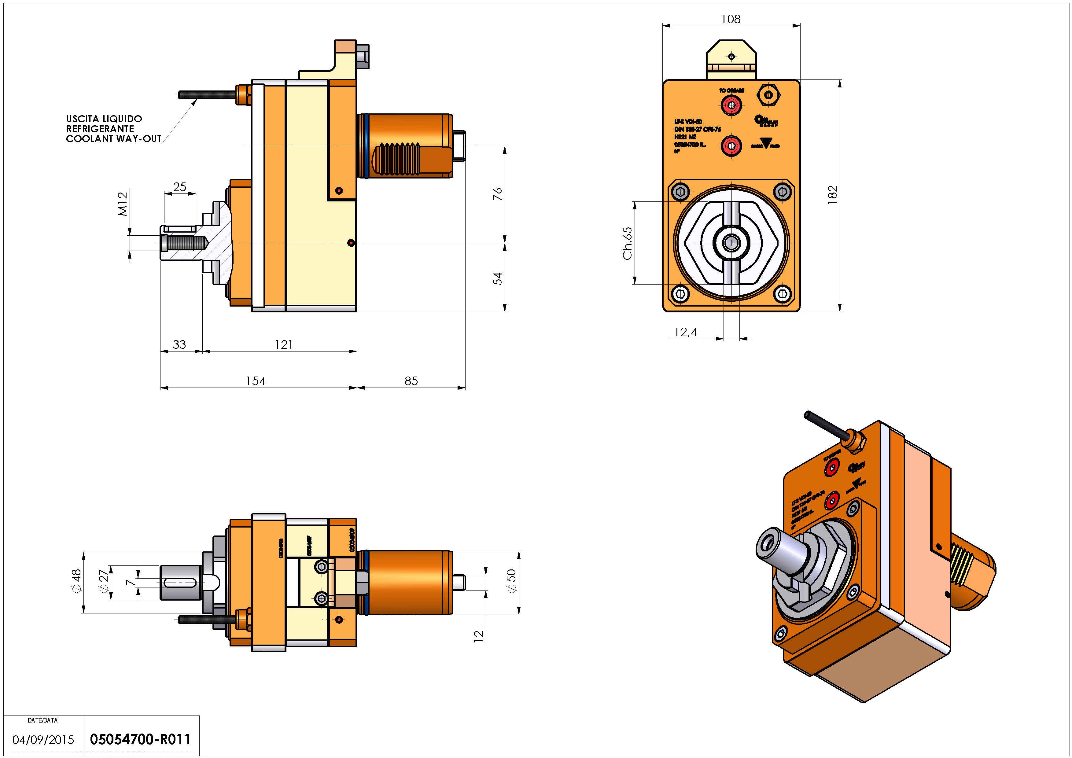 Technical image - LT-S VDI50 DIN27 OFS76 H121 MZ.