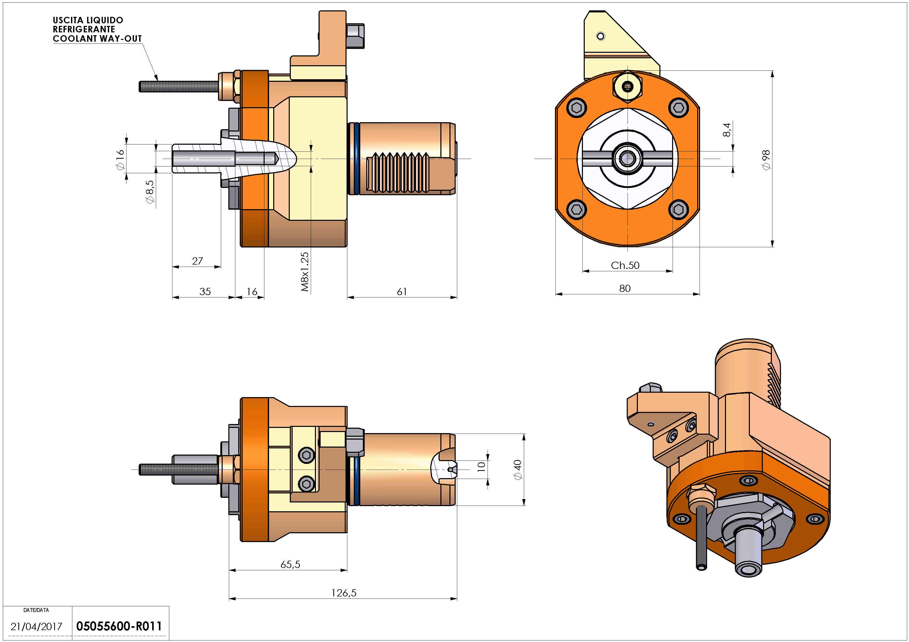 Technical image - LT-S VDI40 DIN16 H70 G60 MZ.