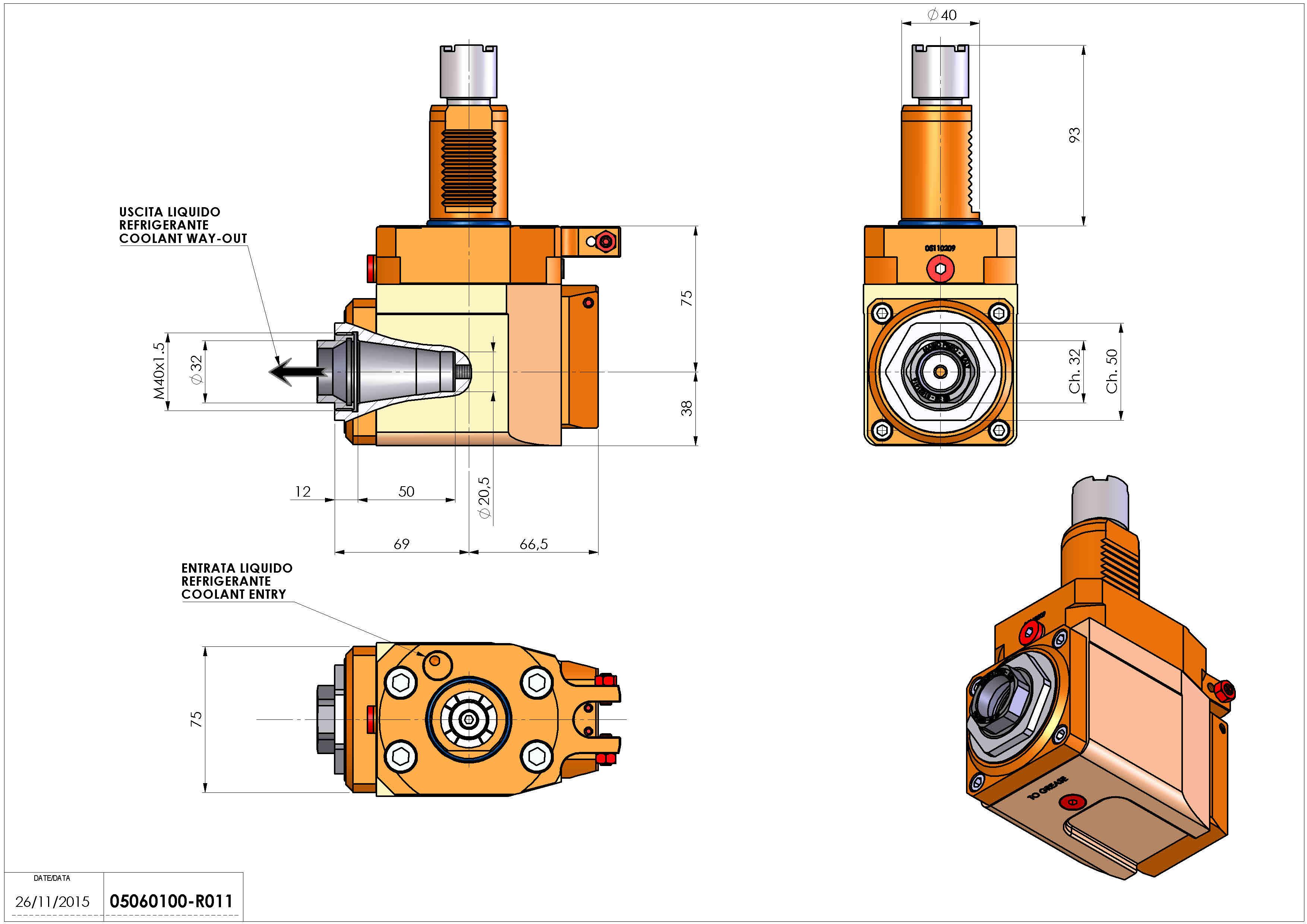 Technical image - LT-A VDI40 ER32F R RF H75 OK.