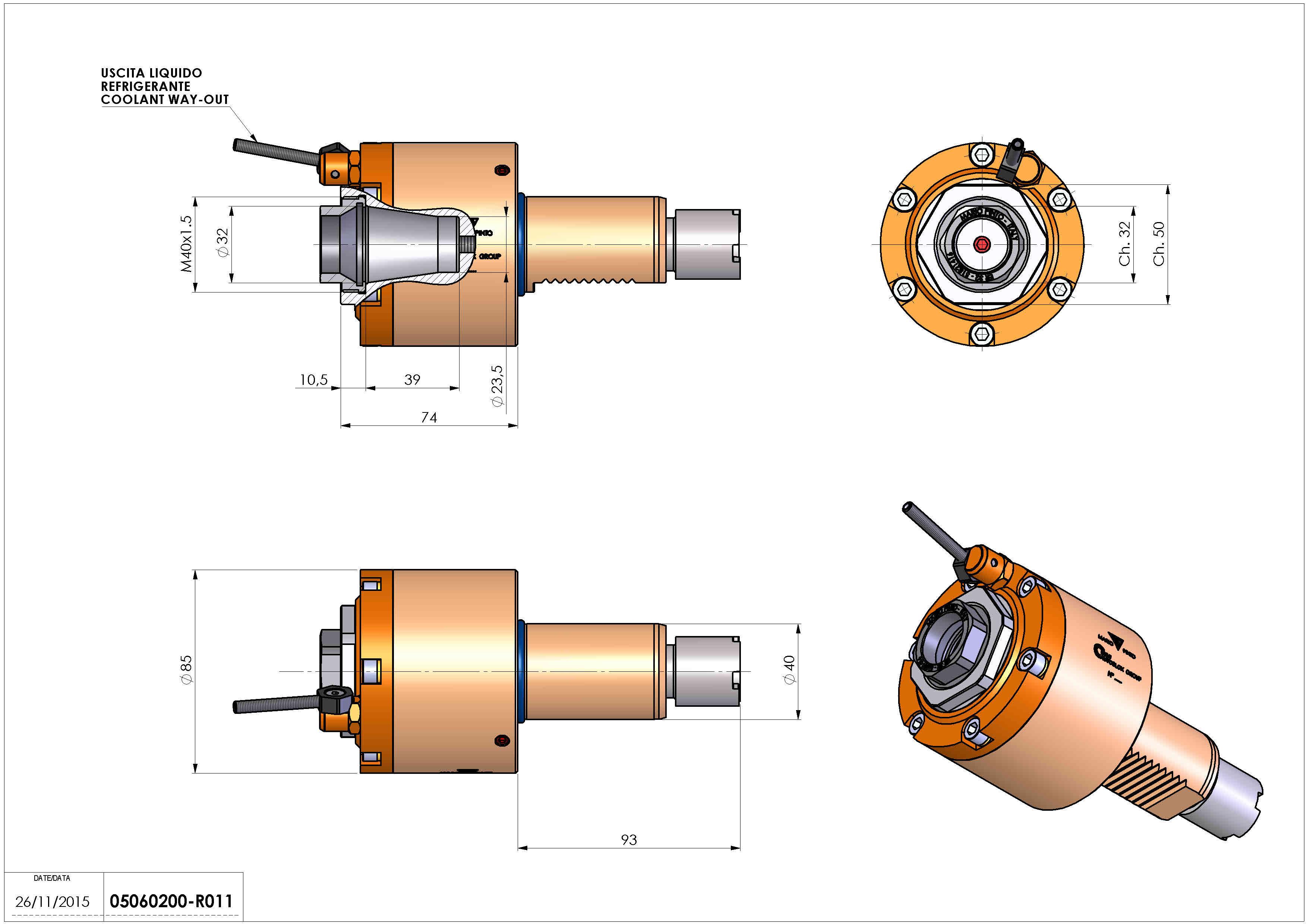 Technical image - LT-S VDI40 ER32F H74 OK.