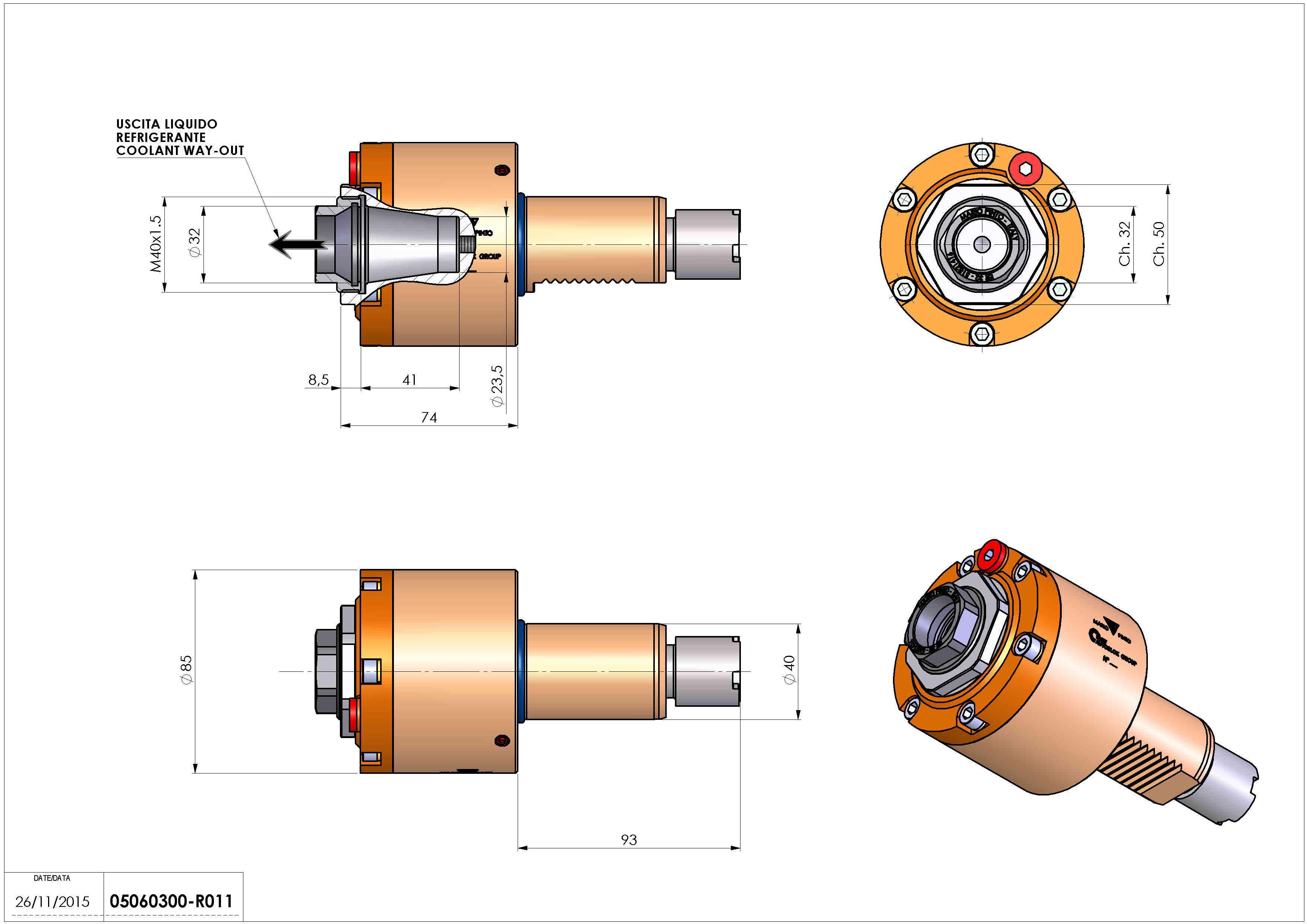 Technical image - LT-S VDI40 ER32F RF H74 OK.
