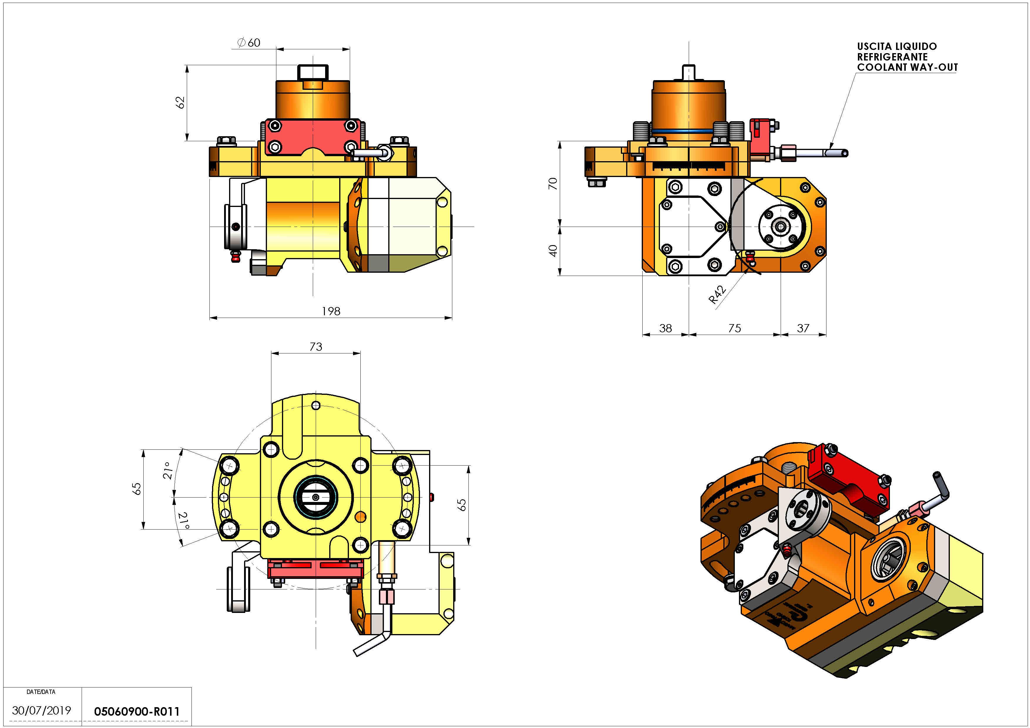Technical image - LT-HOB-SAW D60 2.5:1 H70.