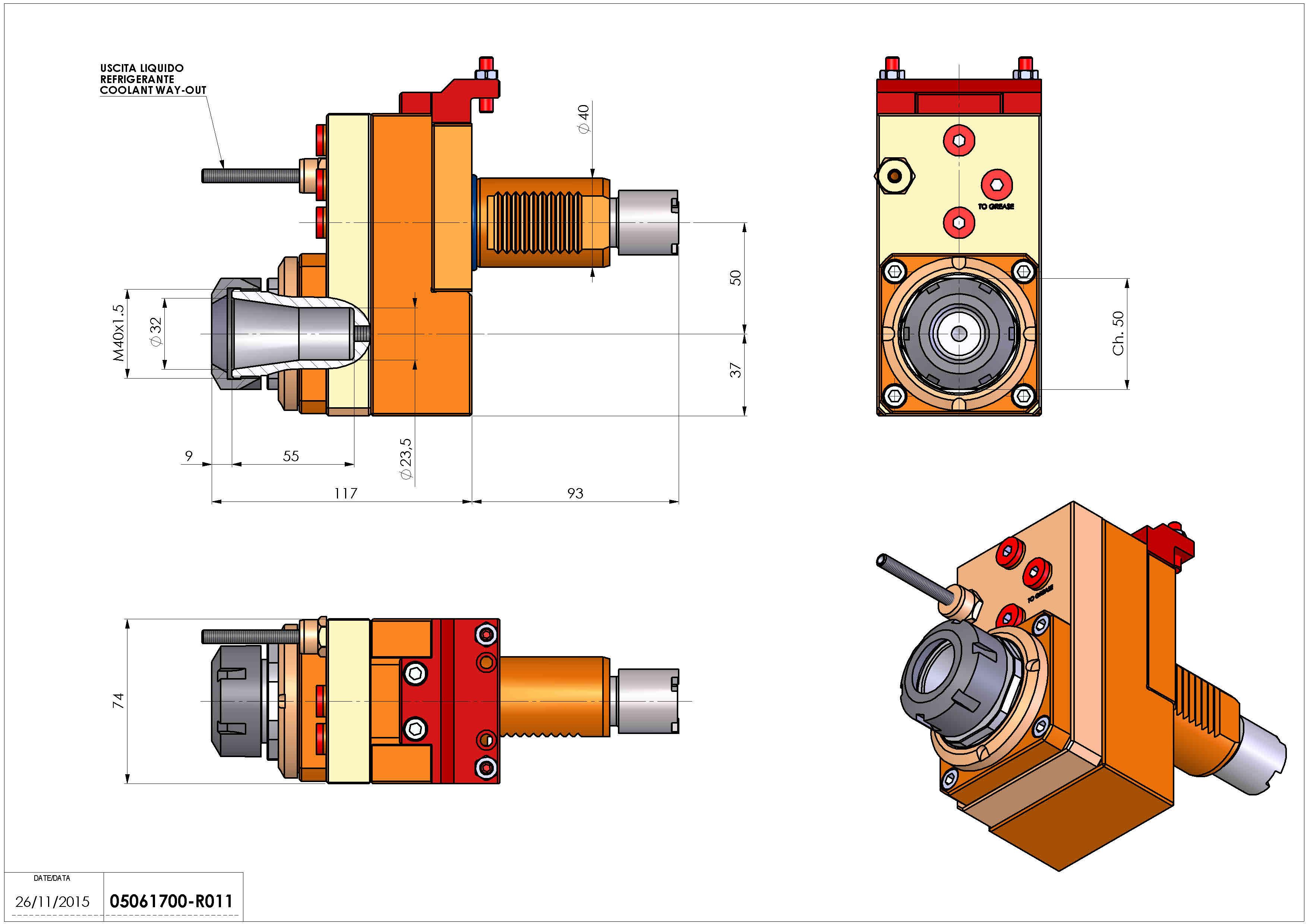 Technical image - LT-S VDI40 ER32 OF50 H108 S OK.
