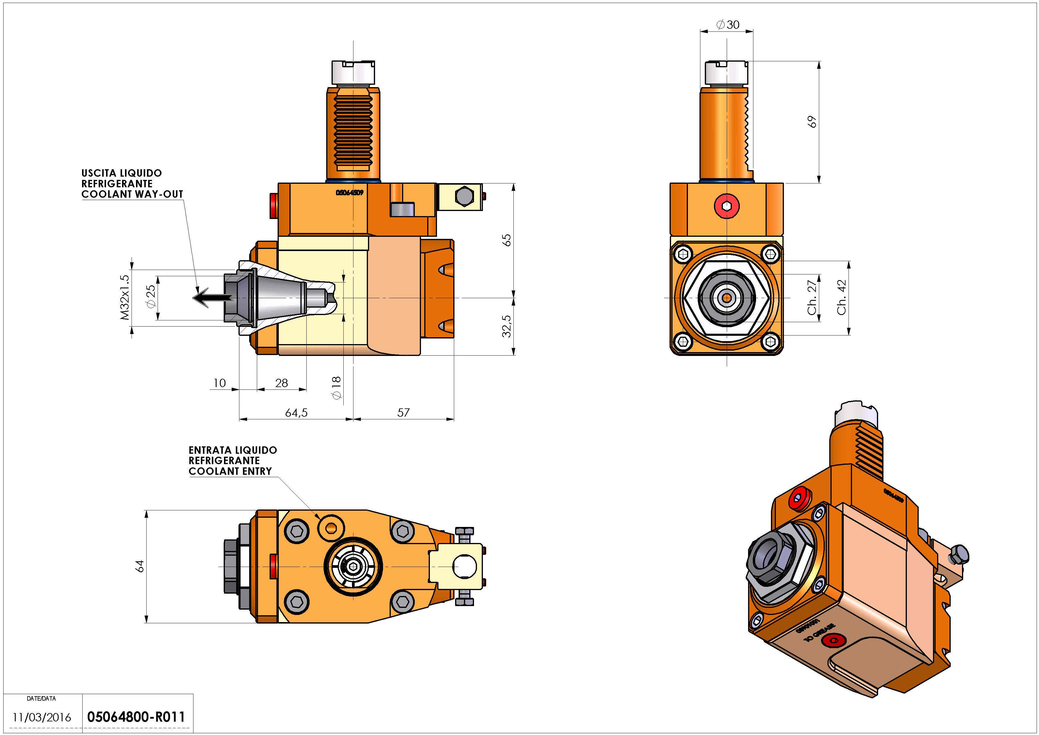 Technical image - LT-A VDI30 ER25F R RF H65 OK.