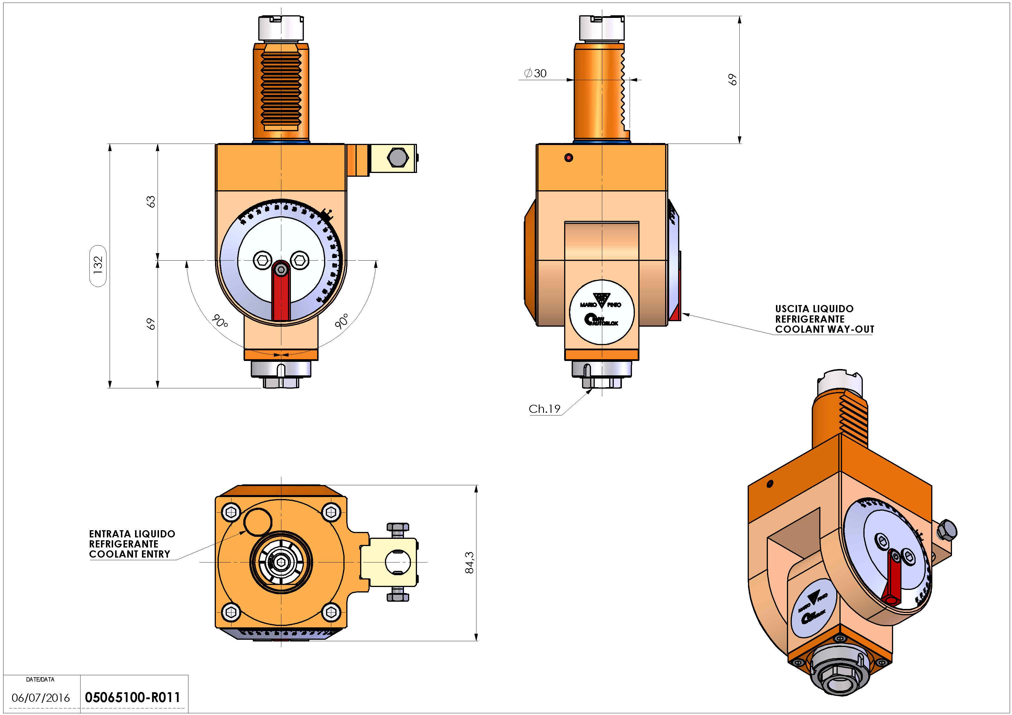 Technical image - LT-T VDI30 ER16F H63-132 F OK.