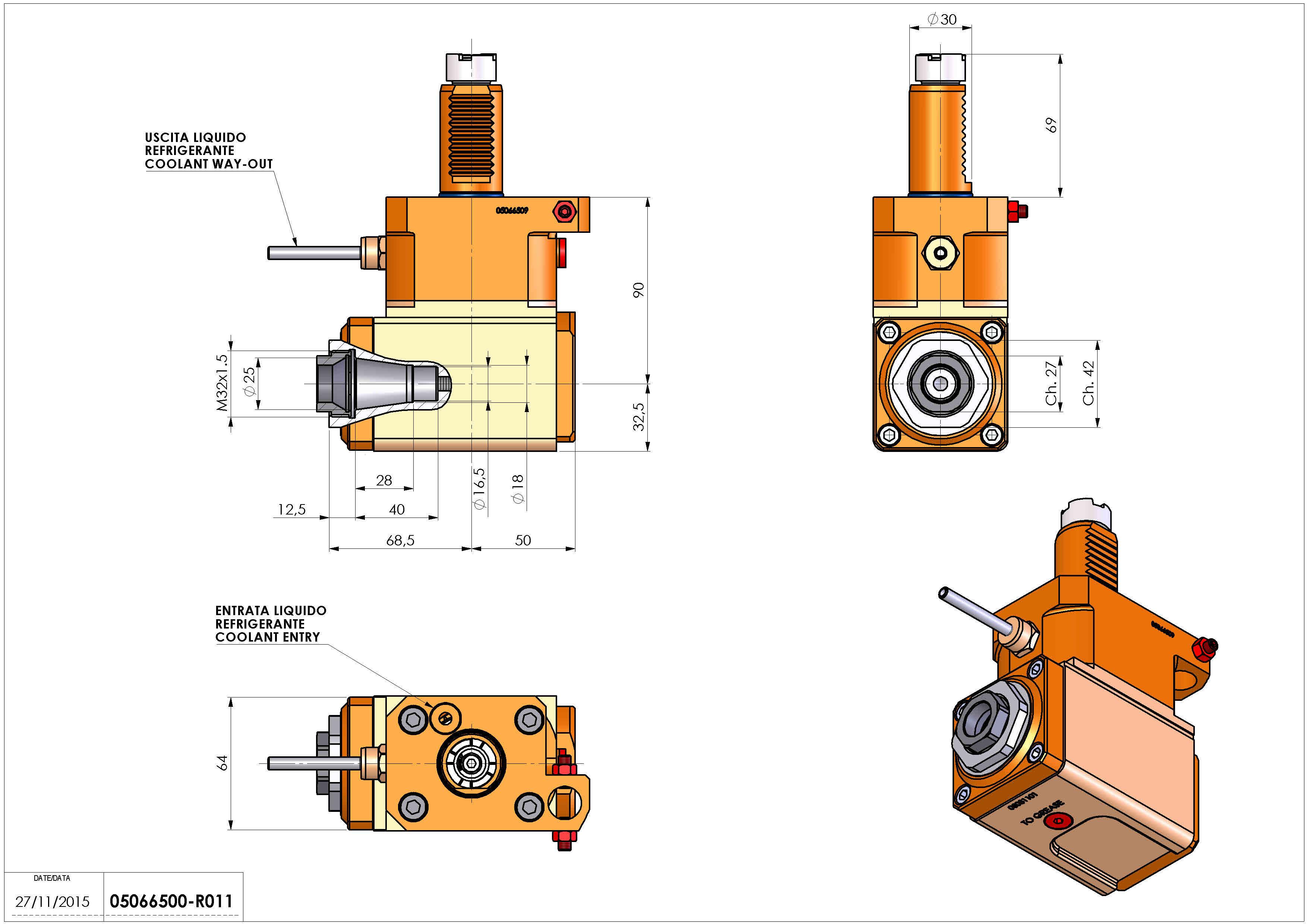 Technical image - LT-A VDI30 ER25F R H90 OK.
