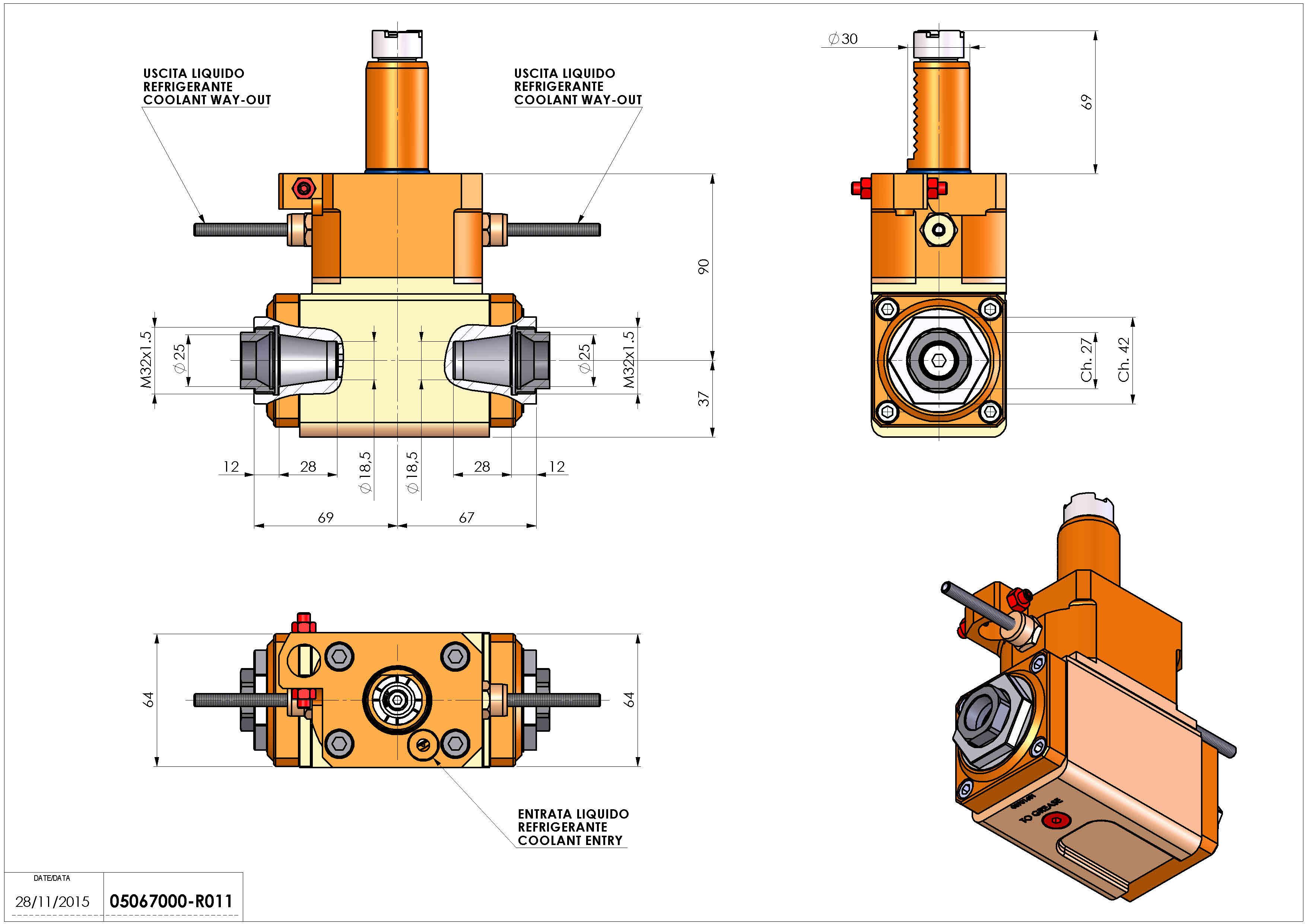 Technical image - LT-A VDI30 ER25F-25F L H90 OK.