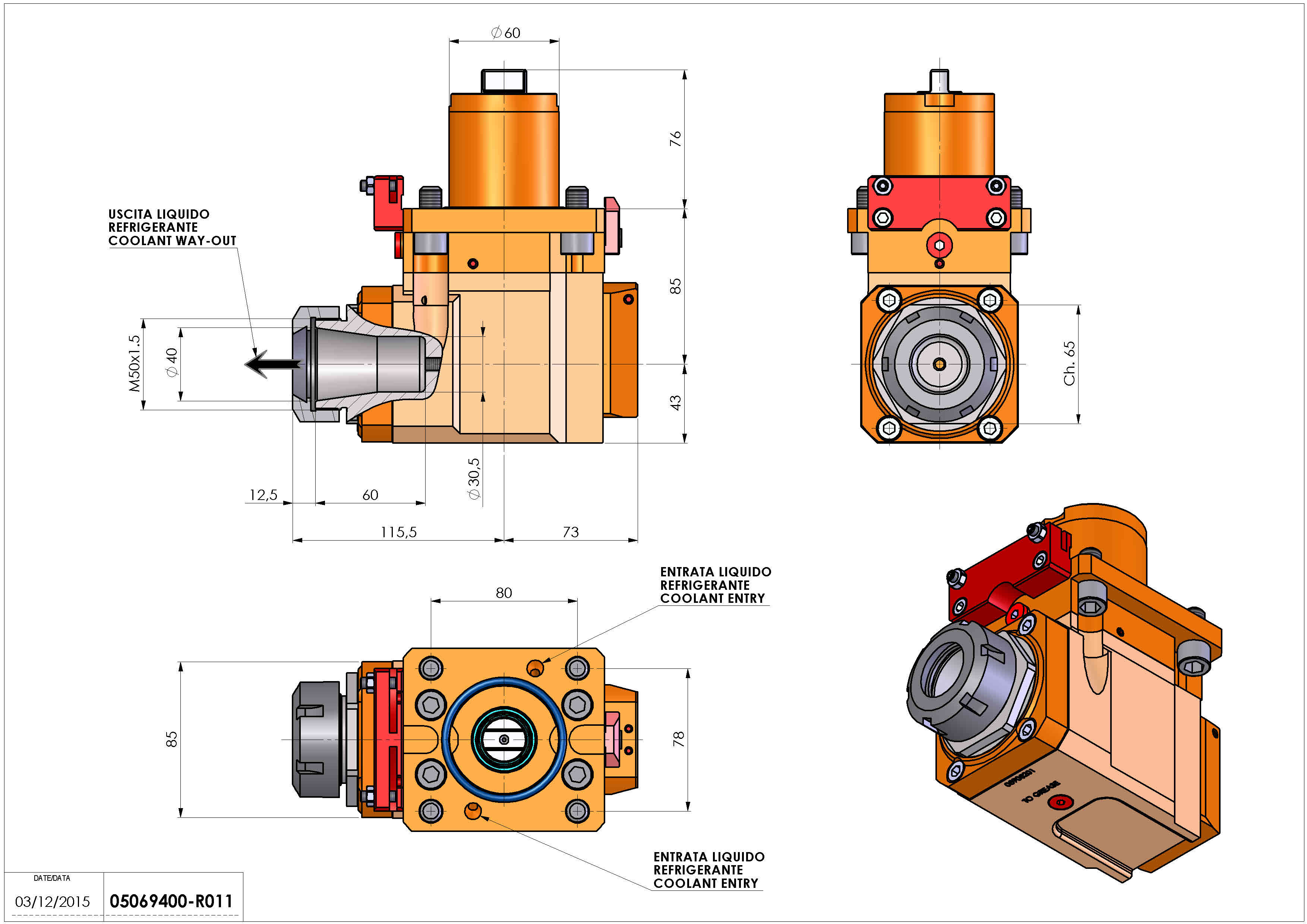 Technical image - LT-A D60 ER40 RF H85 OK OKUMA LB-300 MW MWY.