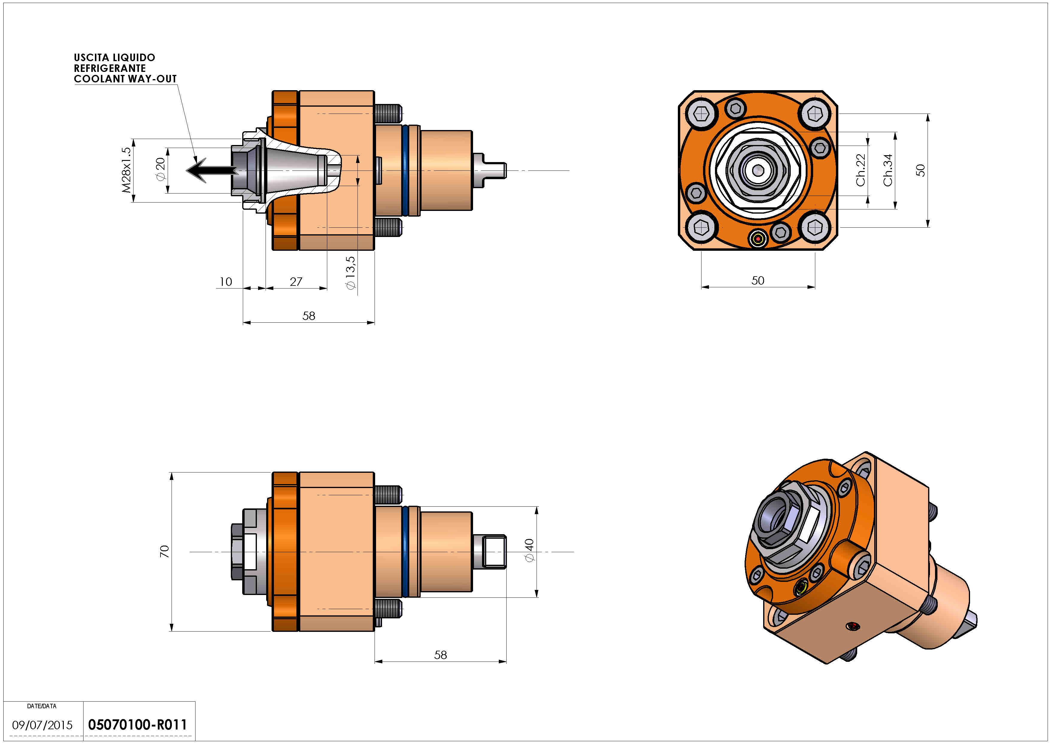 Technical image - LT-S D40 ER20F RF H58 BI.