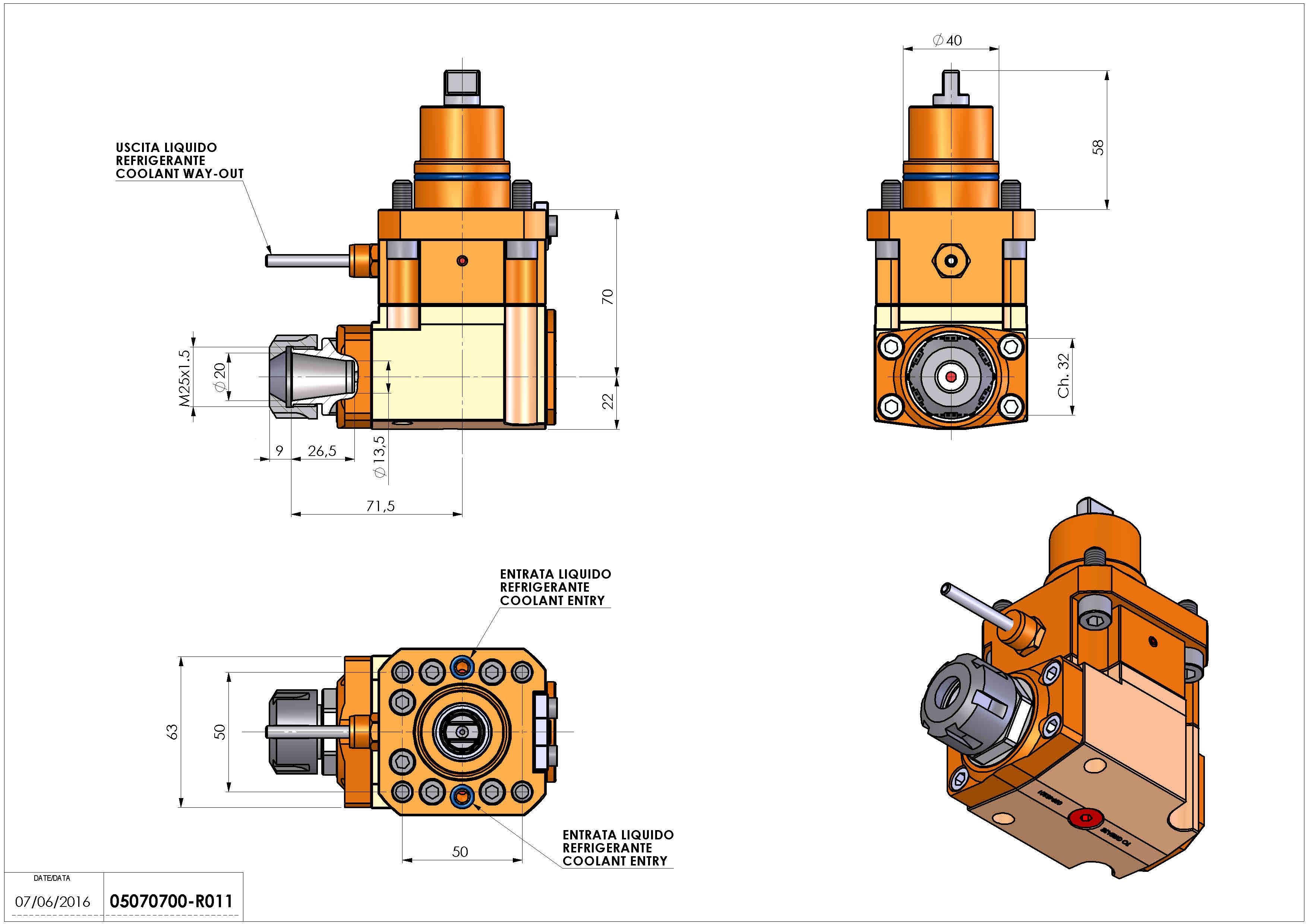 Technical image - LT-A D40 ER20 LR H70 BI.