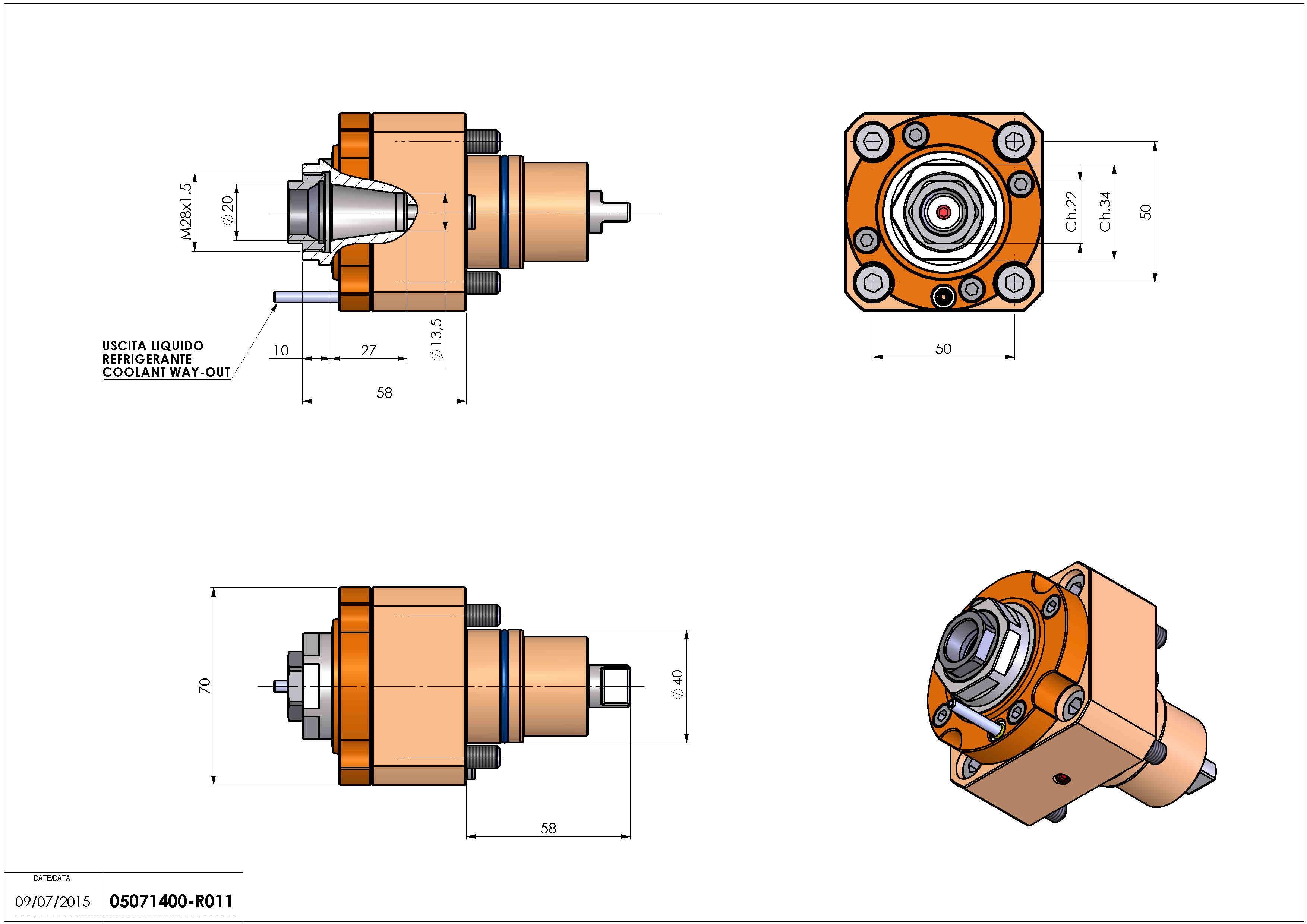 Technical image - LT-S D40 ER20F H58 BI.