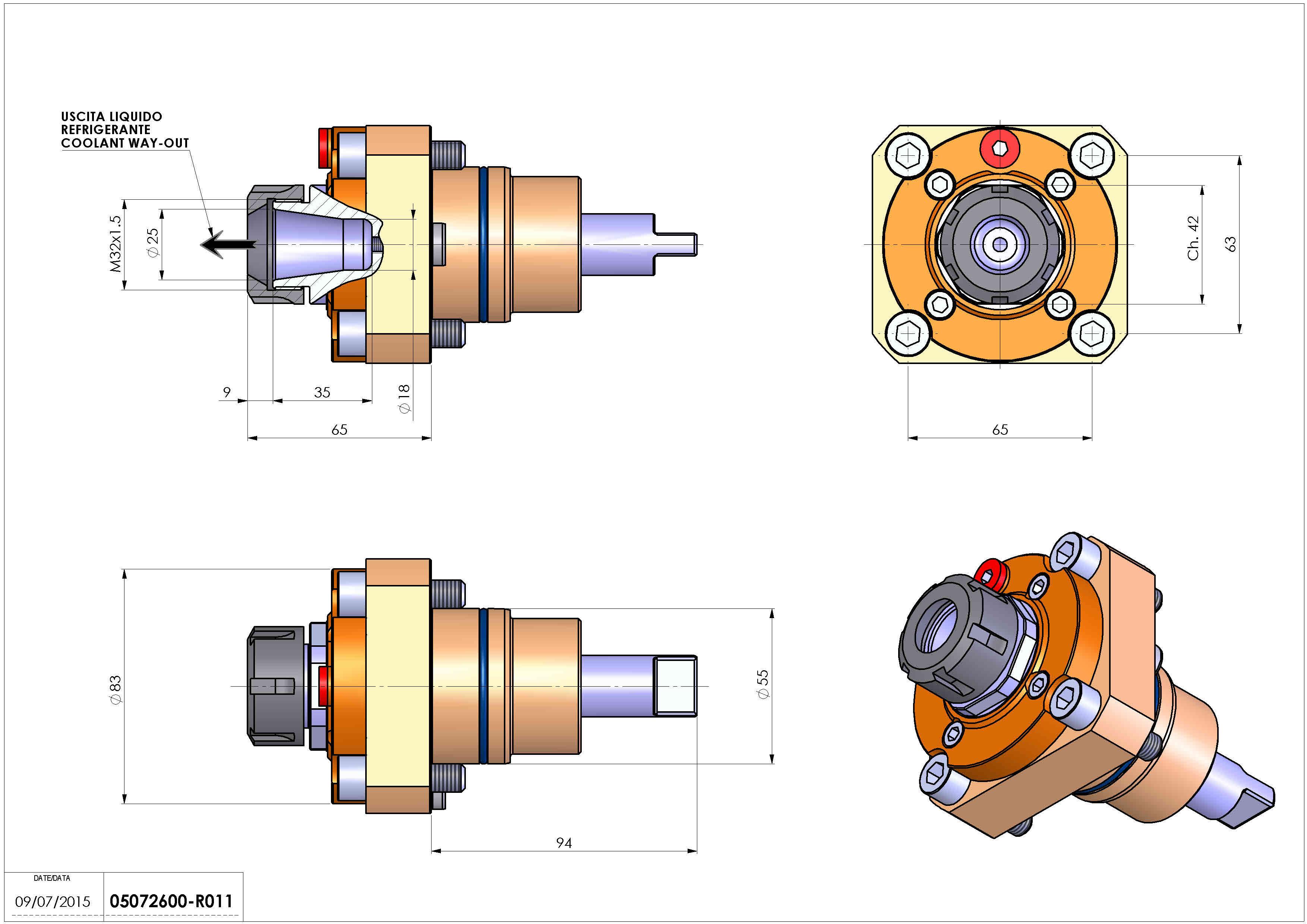 Technical image - LT-S D55 ER25 RF H65 BI.