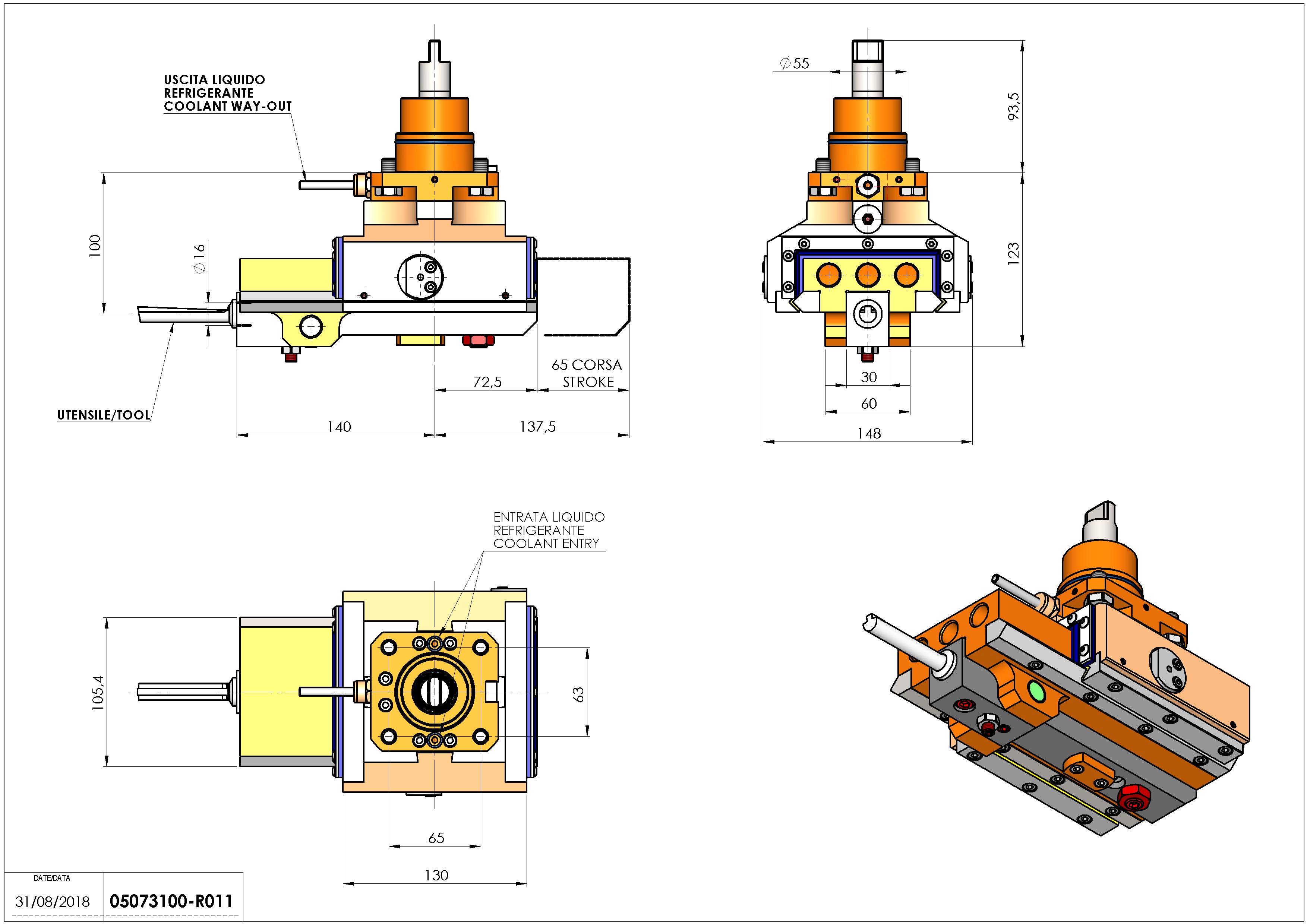 Technical image - LT-A ST65 D55 C16 H100.