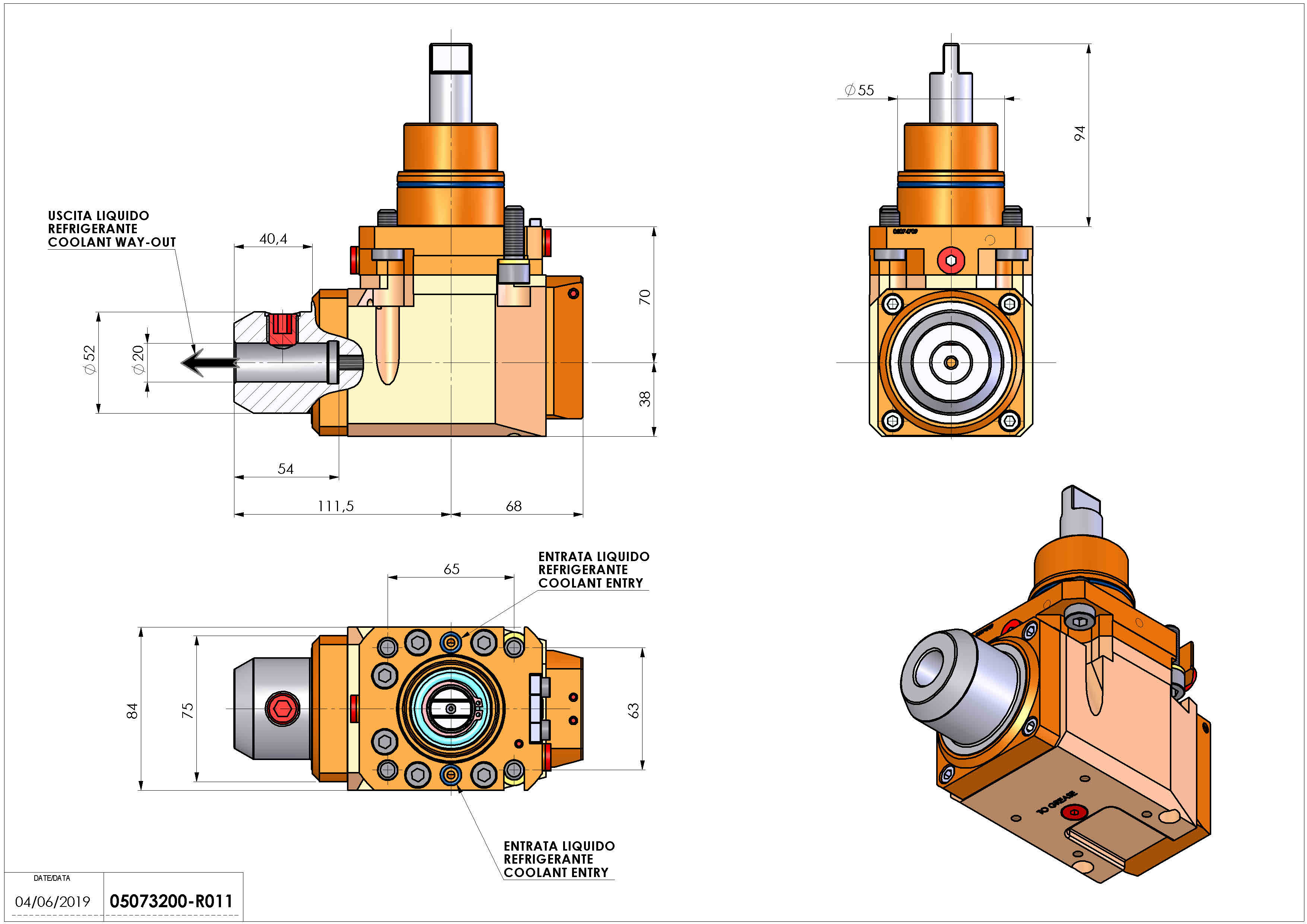 Technical image - LT-A D55 WELDON-20 LR RF H70.