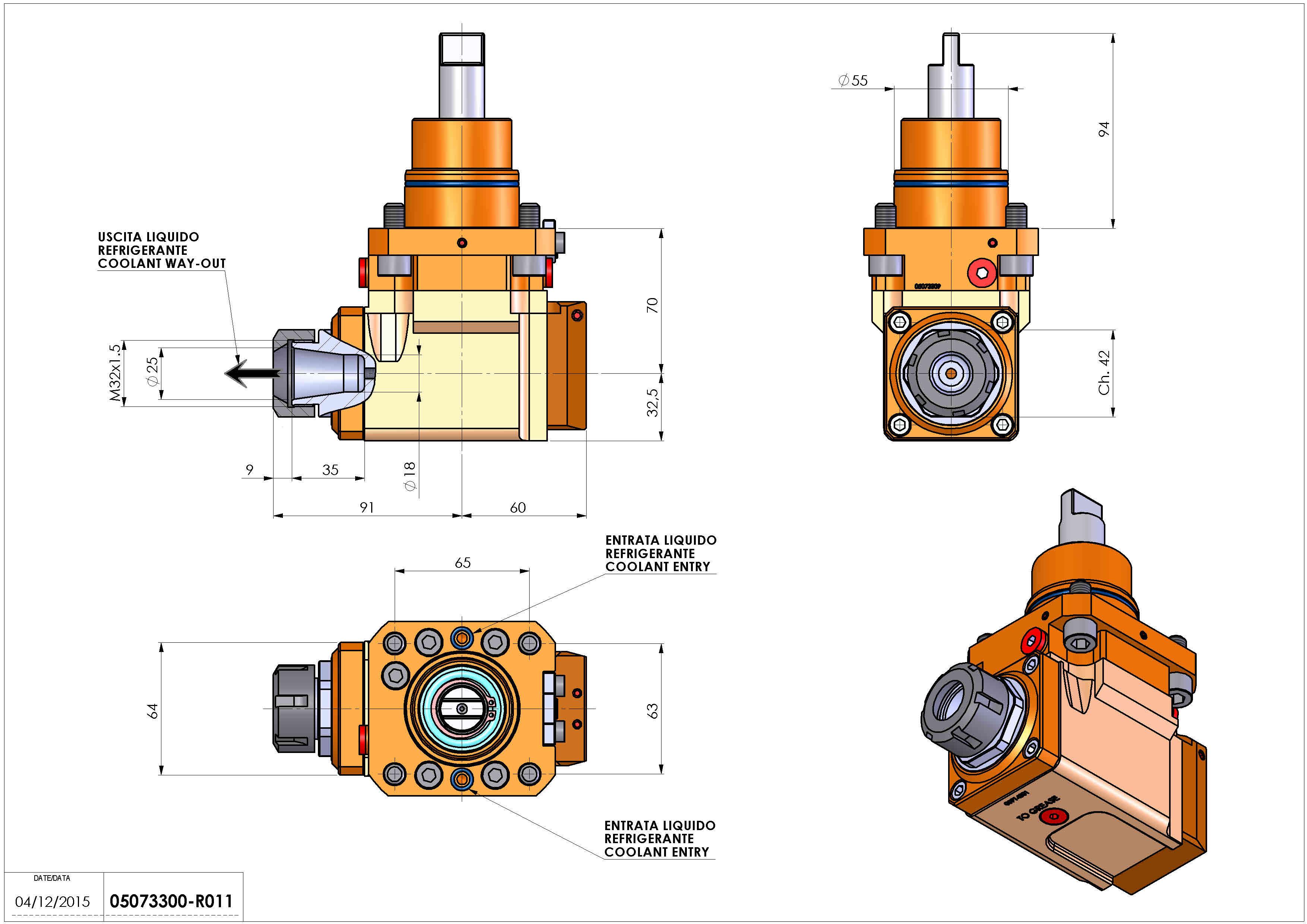 Technical image - LT-A D55 ER25 LR RF H70 BI.