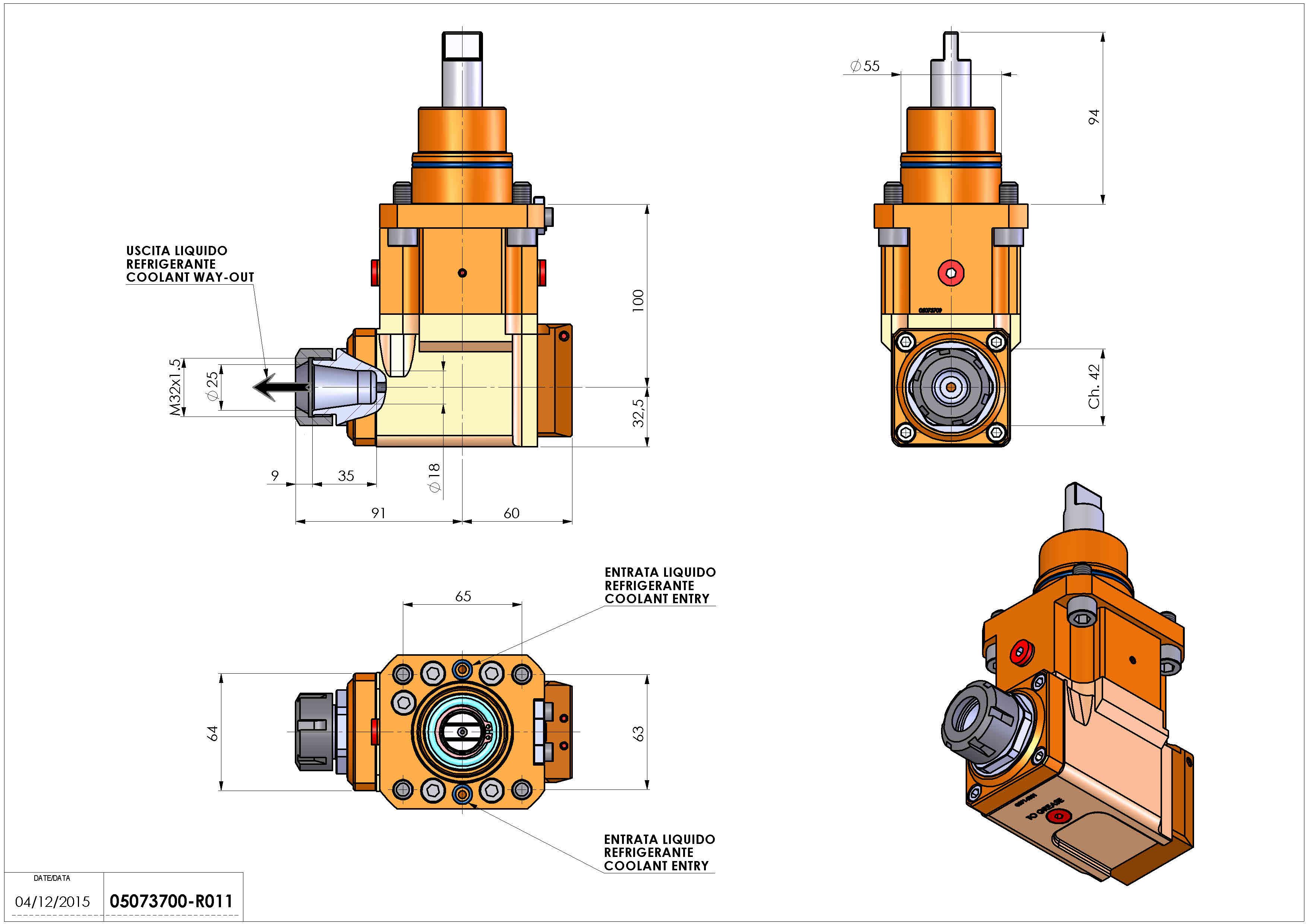 Technical image - LT-A D55 ER25 LR RF H100 BI.