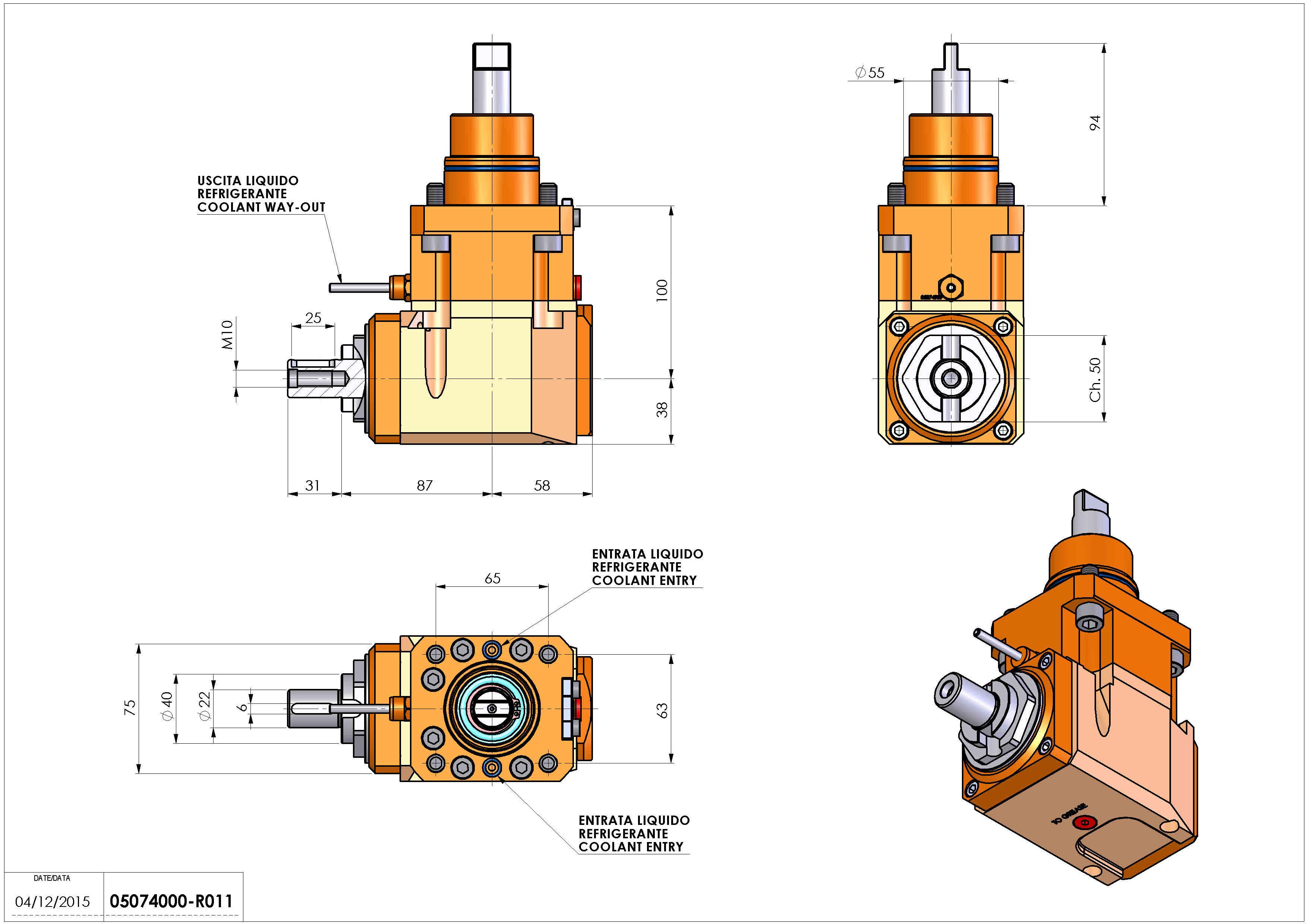 Technical image - LT-A D55 DIN138-22 LR H100 BI.