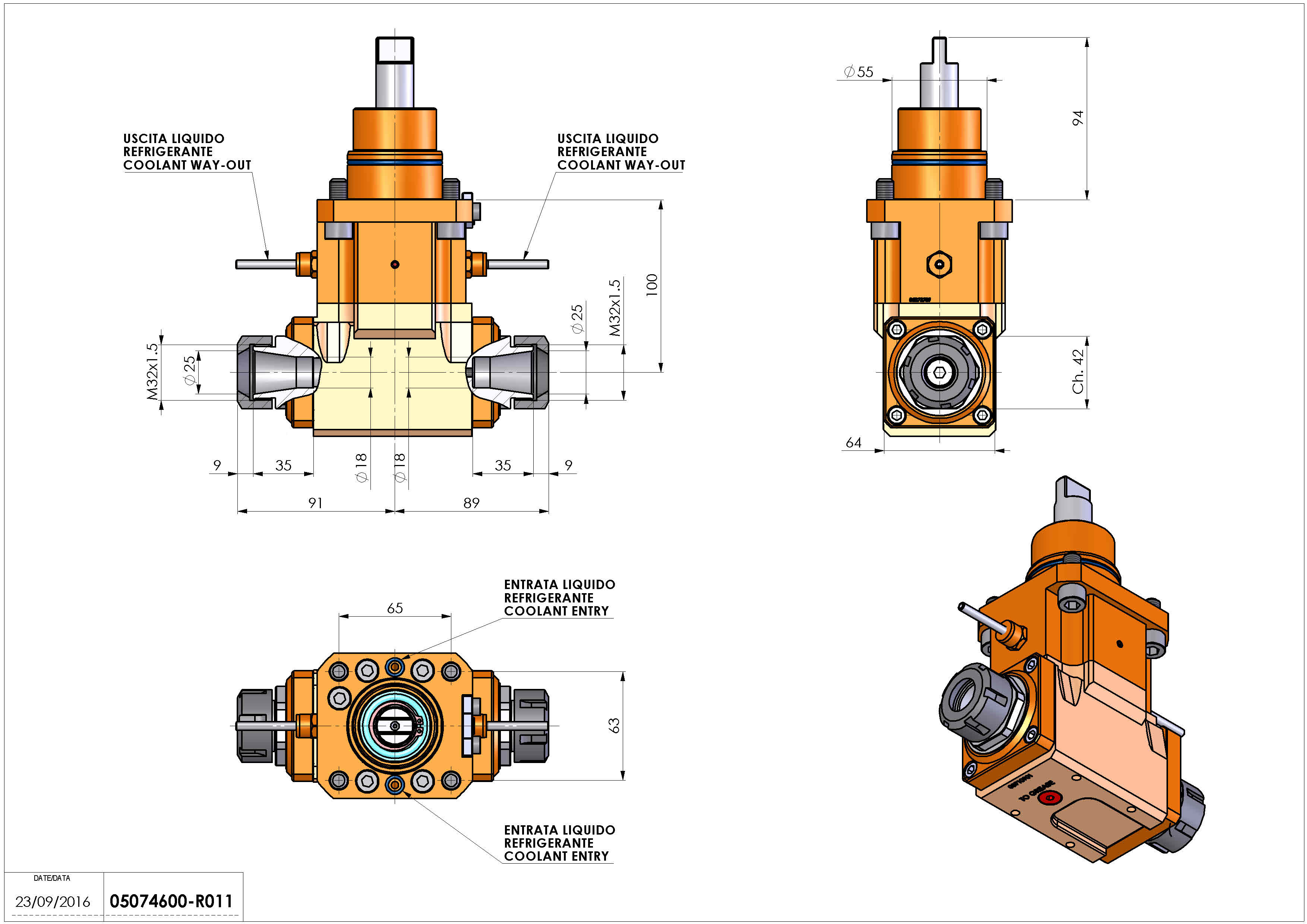 Technical image - LT-A D55 ER25-25 H100 BI.