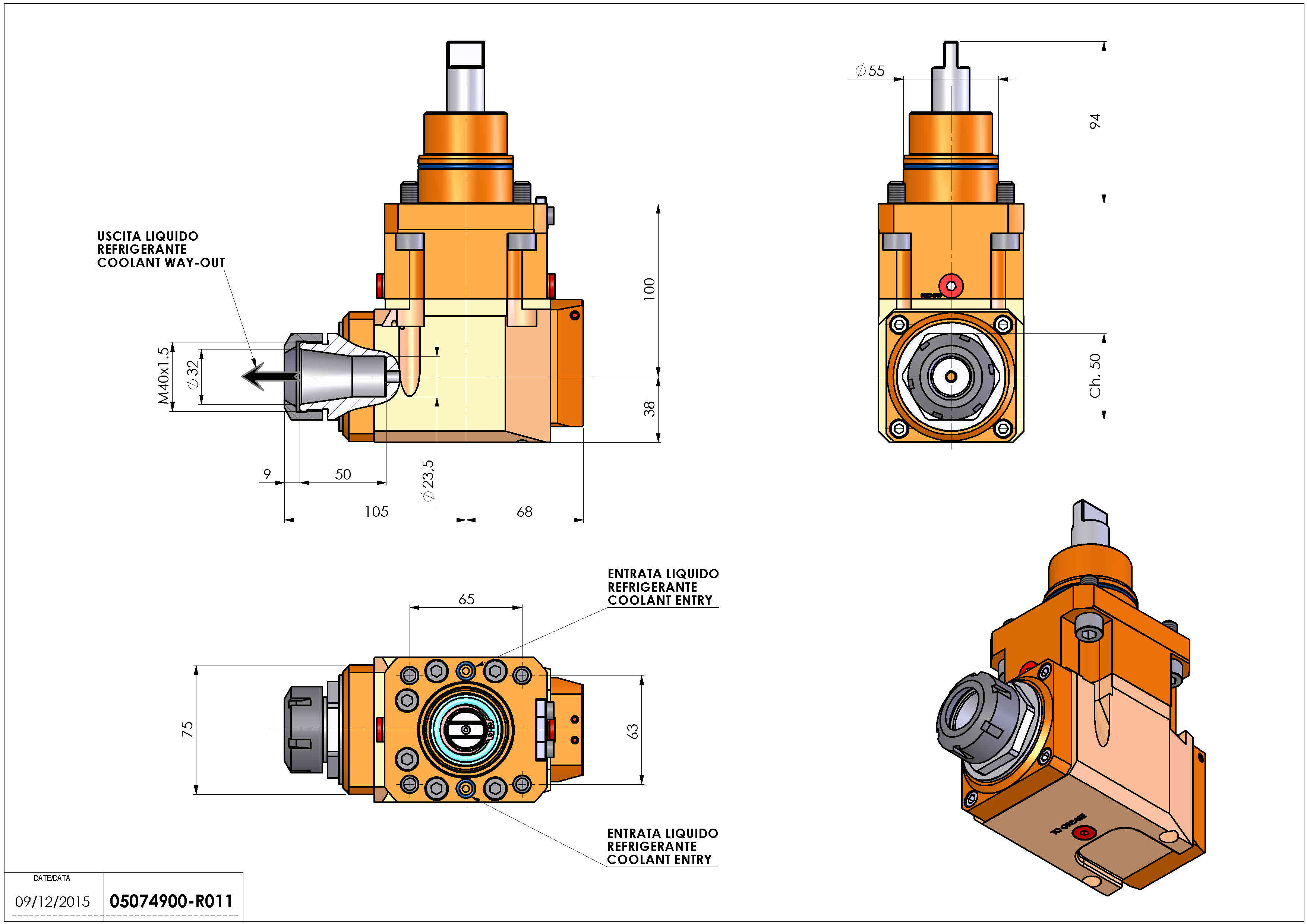 Technical image - LT-A D55 ER32 LR RF H100 BI.