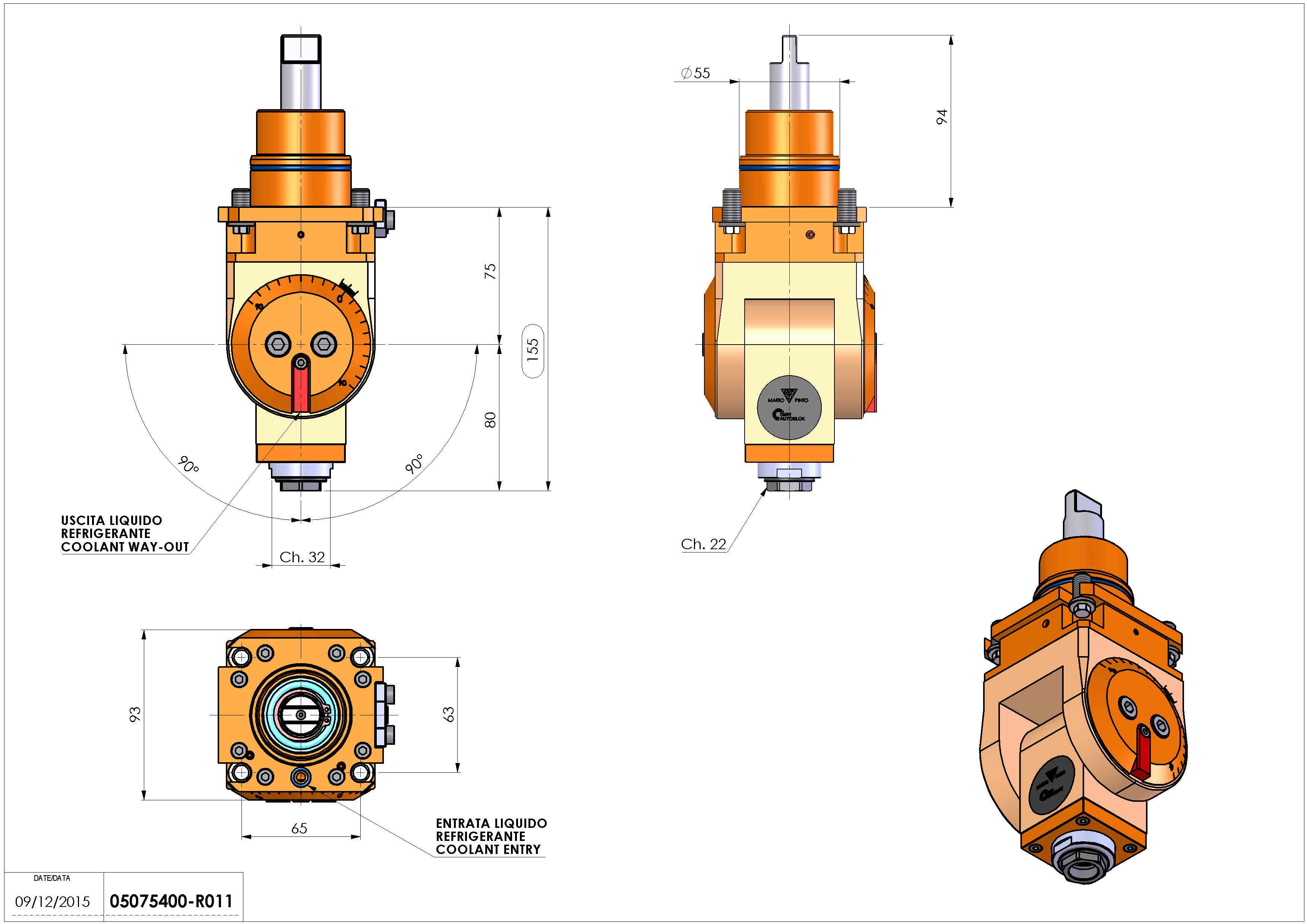 Technical image - LT-T D55 ER20F H75-155 BI.