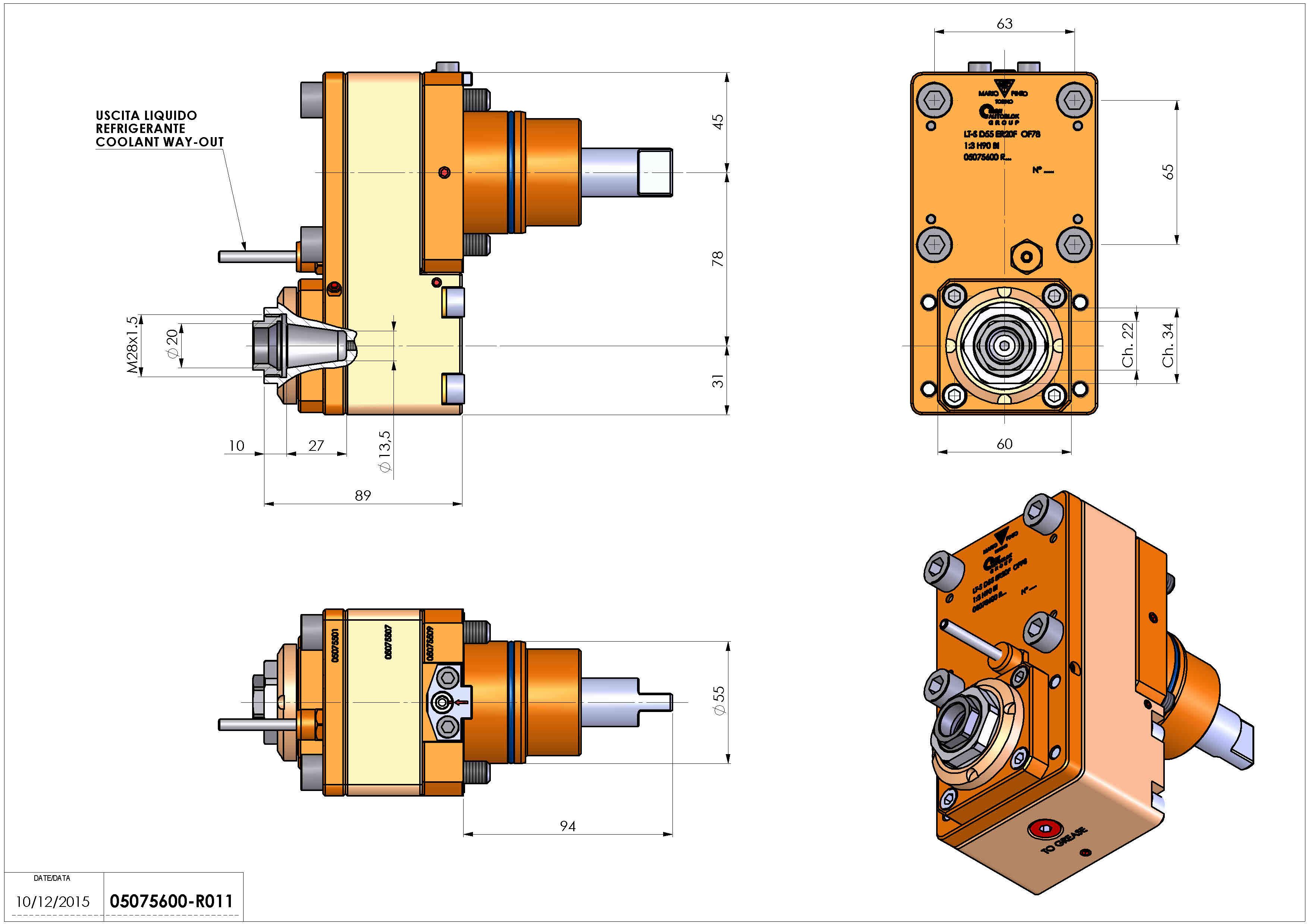 Technical image - LT-S D55 ER20F OF78 1:3 H90 BI.