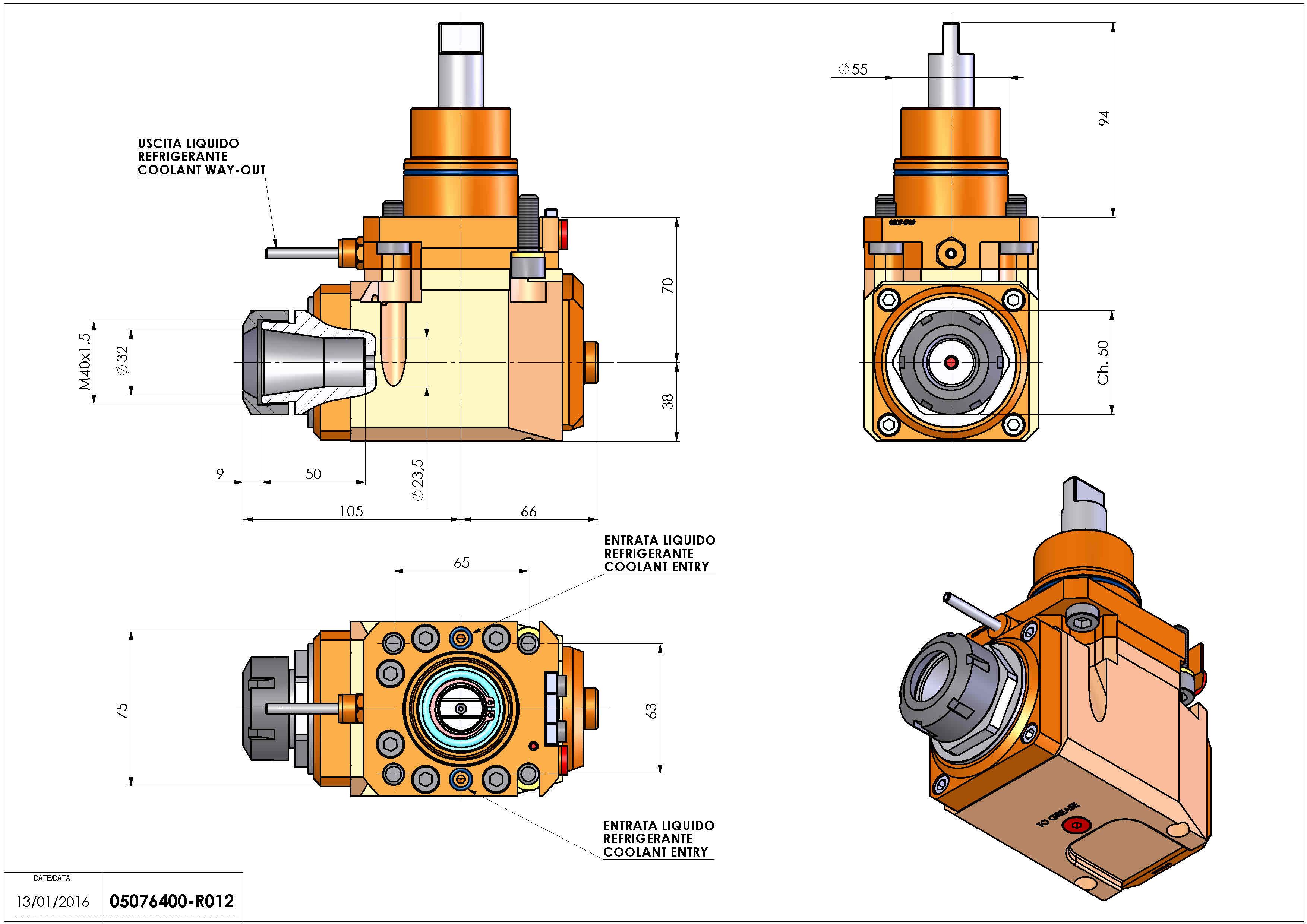 Technical image - LT-A D55 ER32 LR 2:1 H70 BI.
