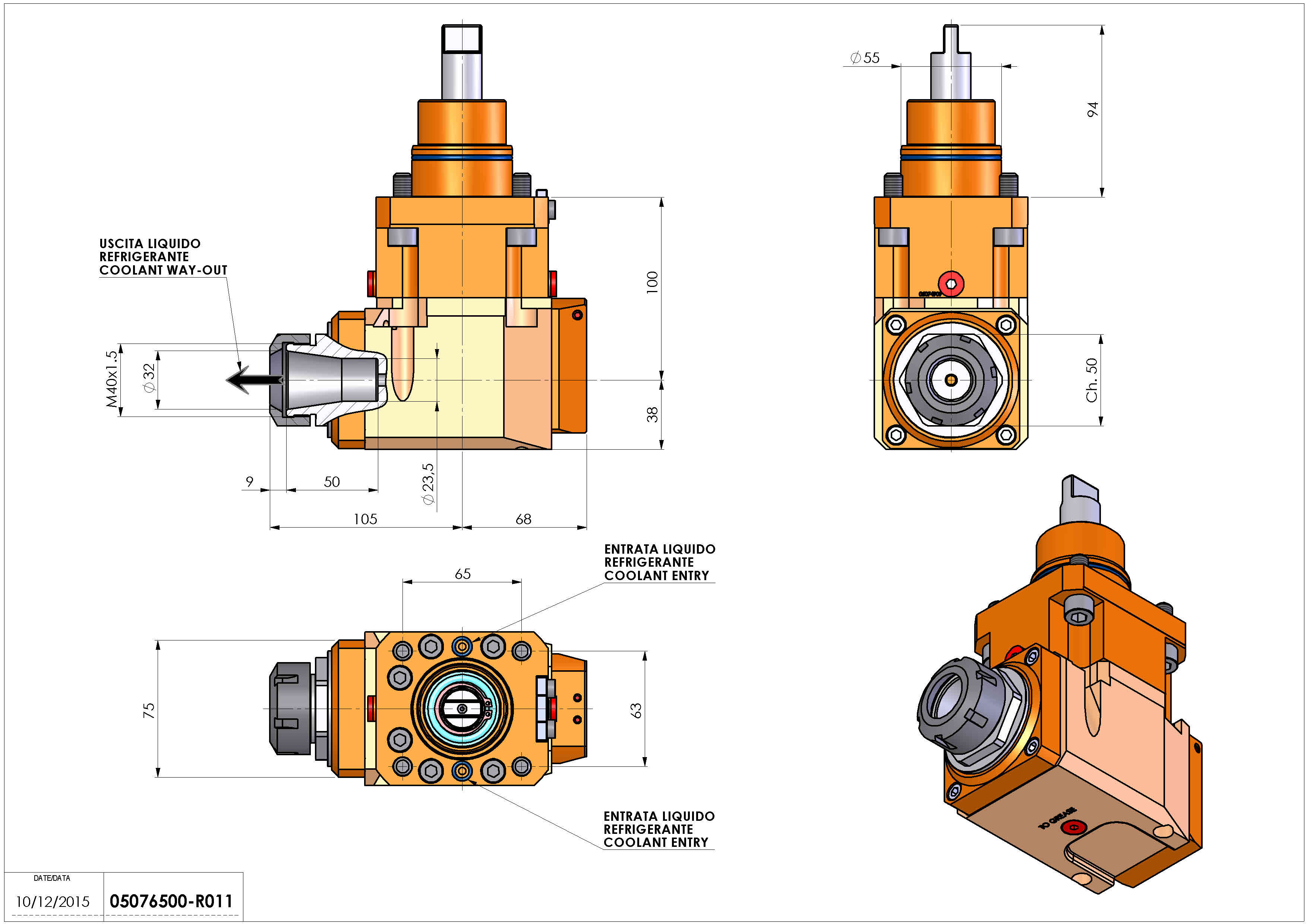 Technical image - LT-A D55 ER32 LR RF 2:1 H100BI.