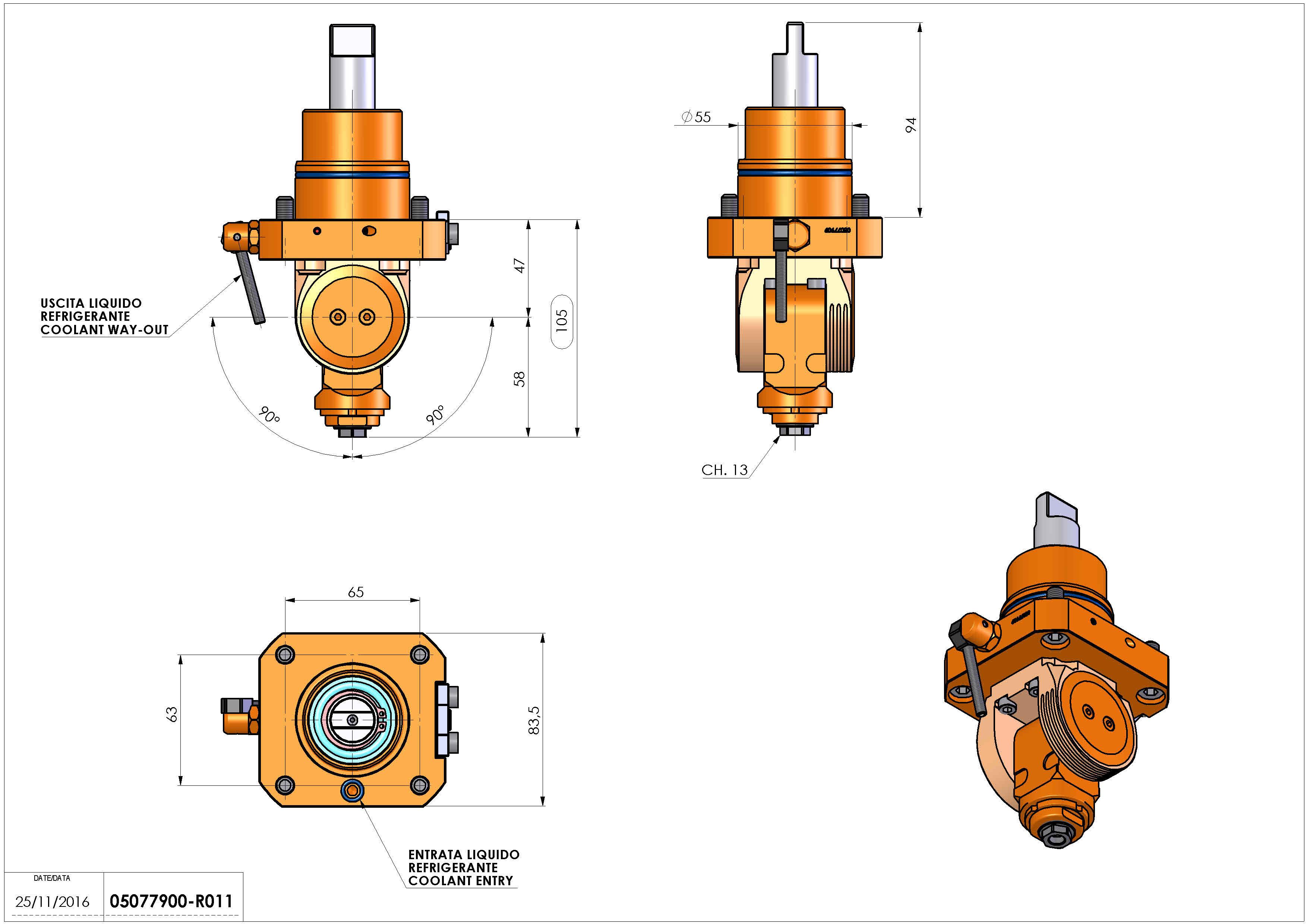 Technical image - LT-T D55 ER11F H44-102 BI.