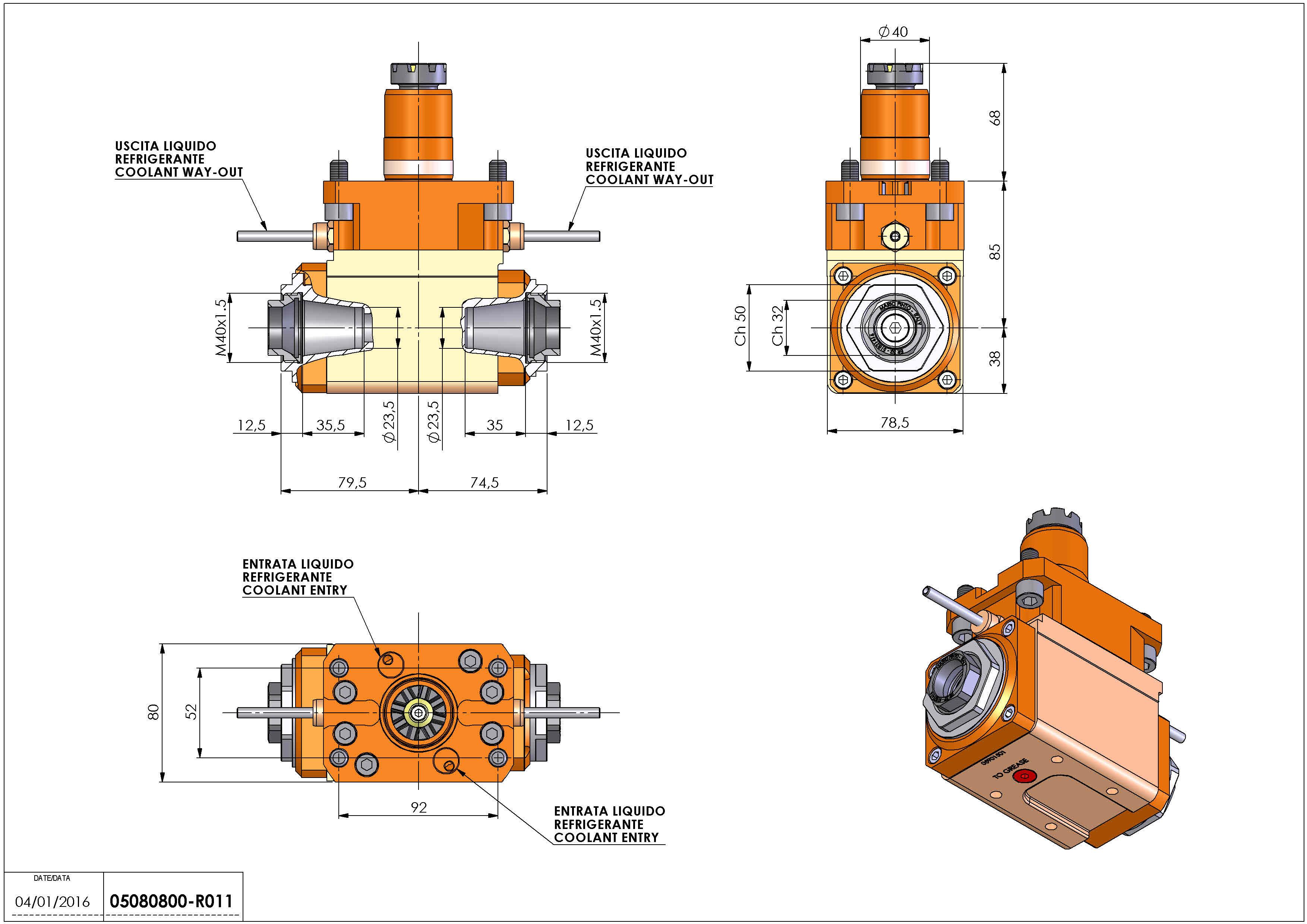 Technical image - LT-A D40 ER32-32-F L-R H85 AN.