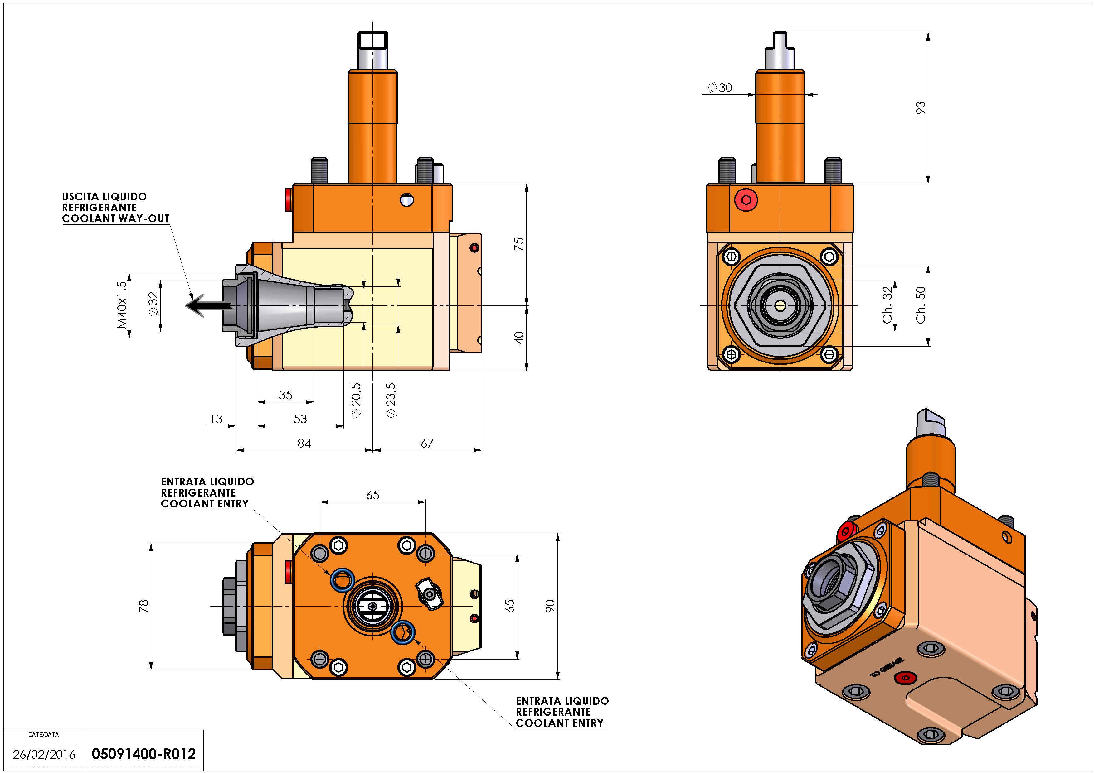 Technical image - LT-A D30 ER32-F L-R RF H75 RO.