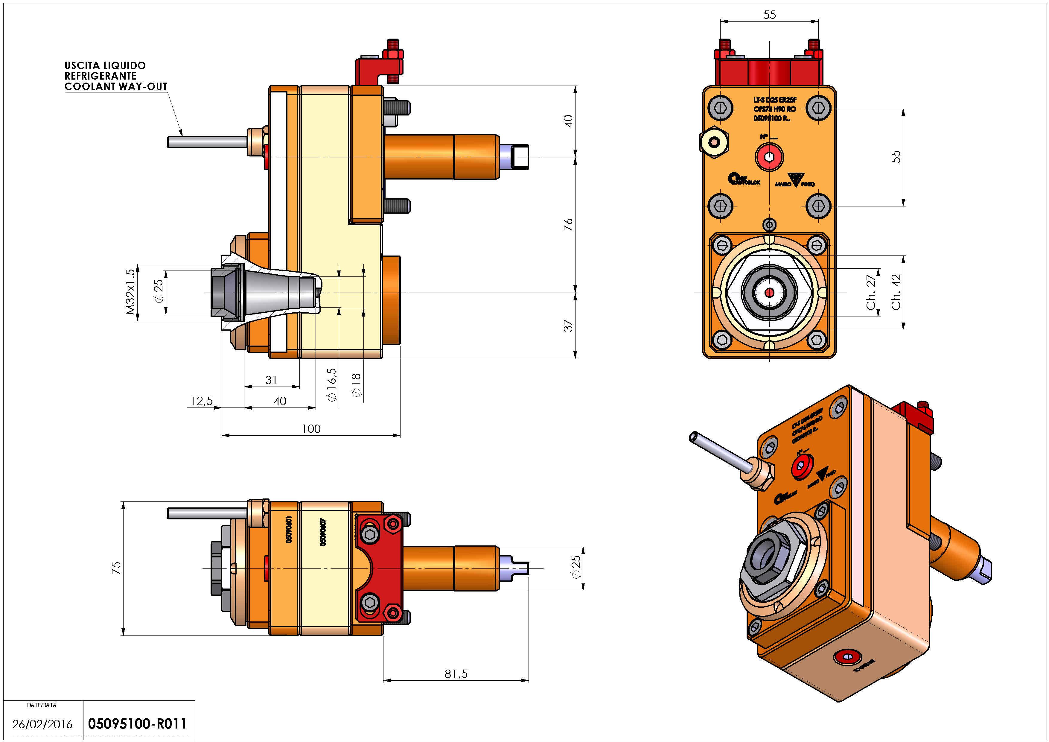 Technical image - LT-S D25 ER25F OFS76 H90 RO.