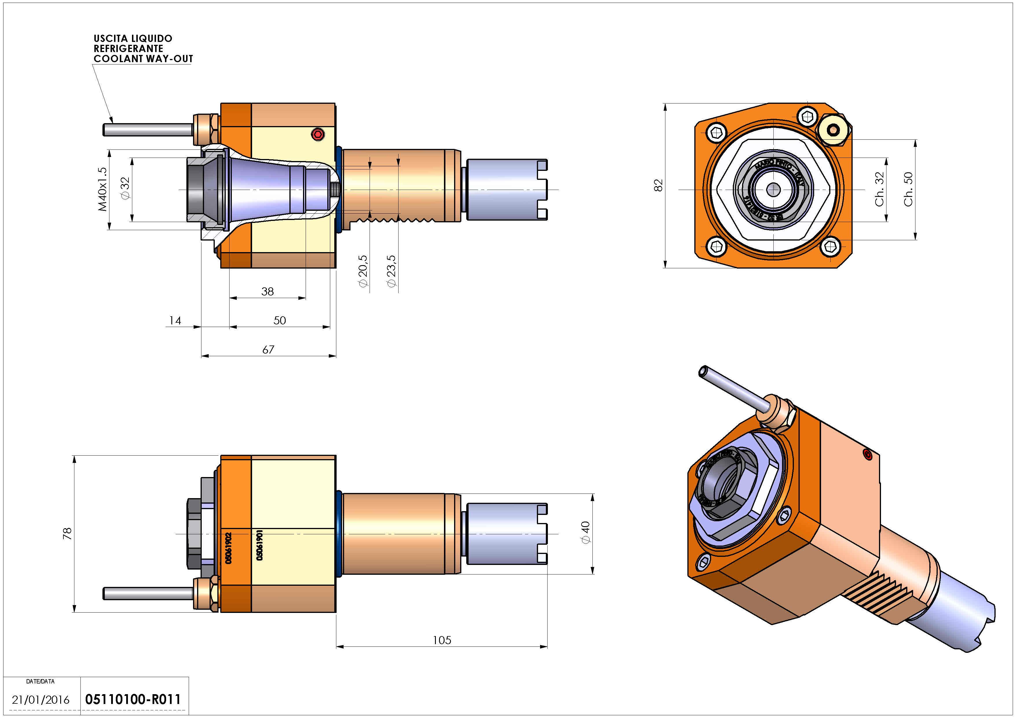 Technical image - LT-S VDI40 ER32F H53 HA.