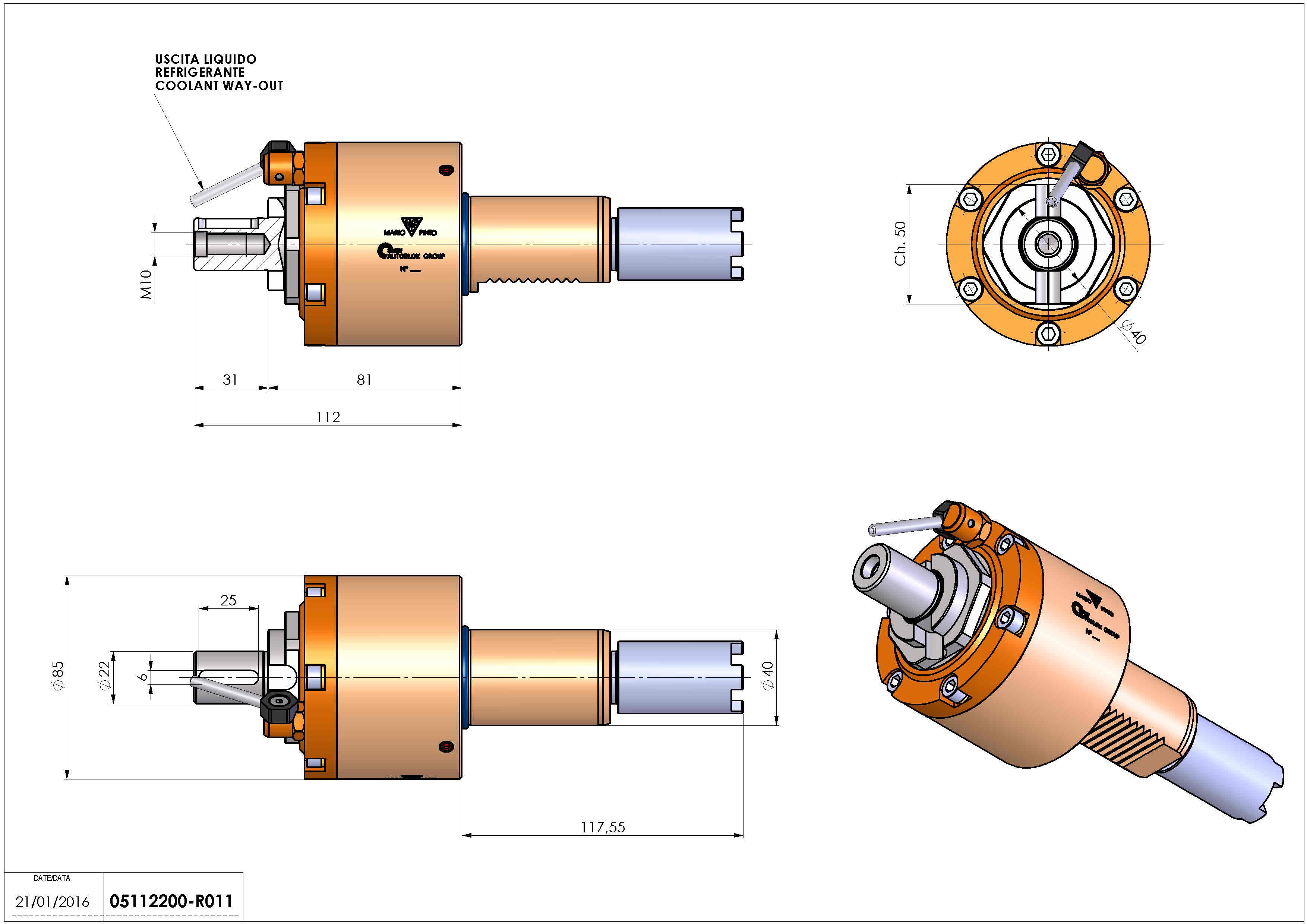 Technical image - LT-S VDI40 DIN22 H81 117 HA.