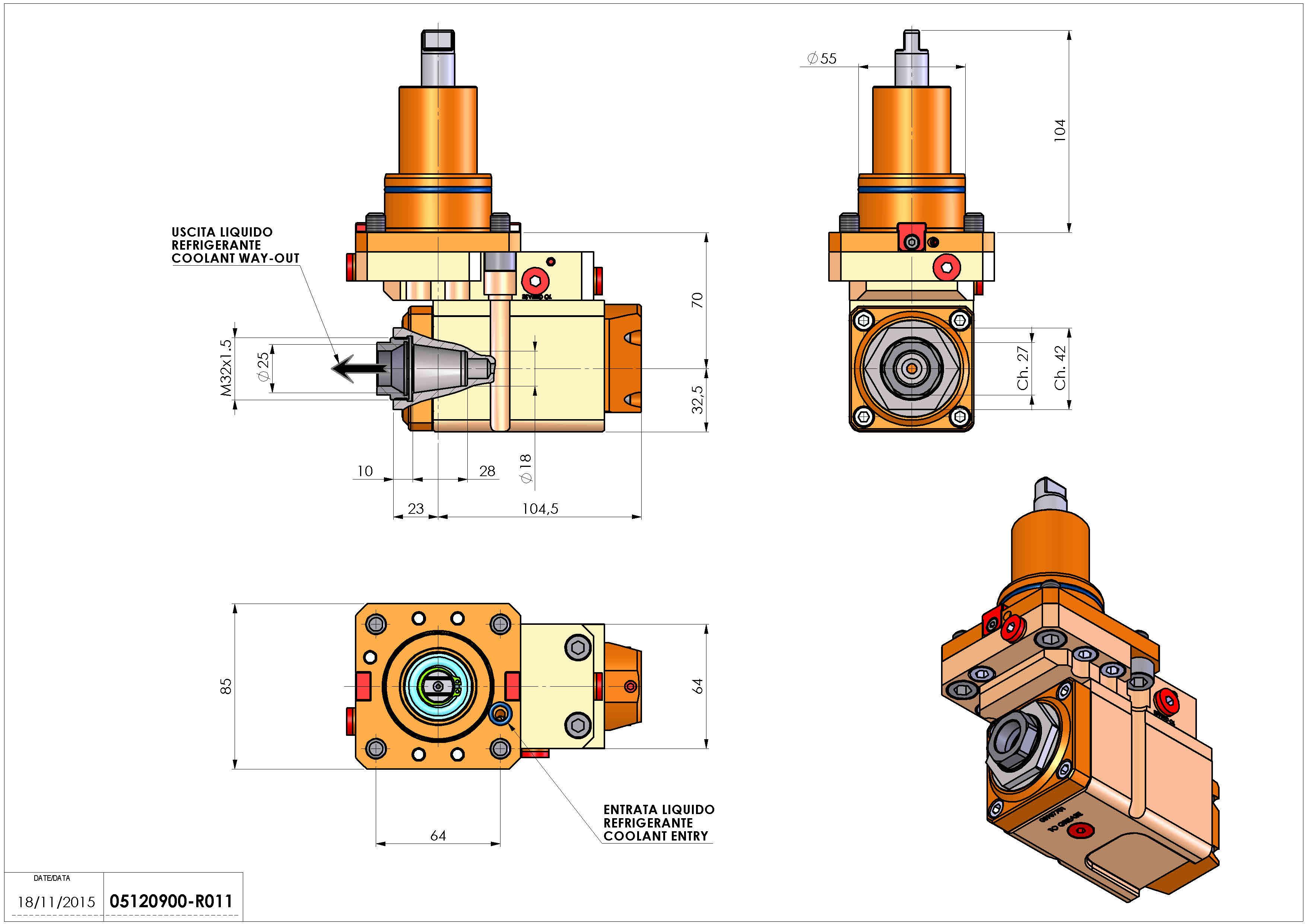 Technical image - LT-A BMT55 ER25F RF OFS H70 DW.