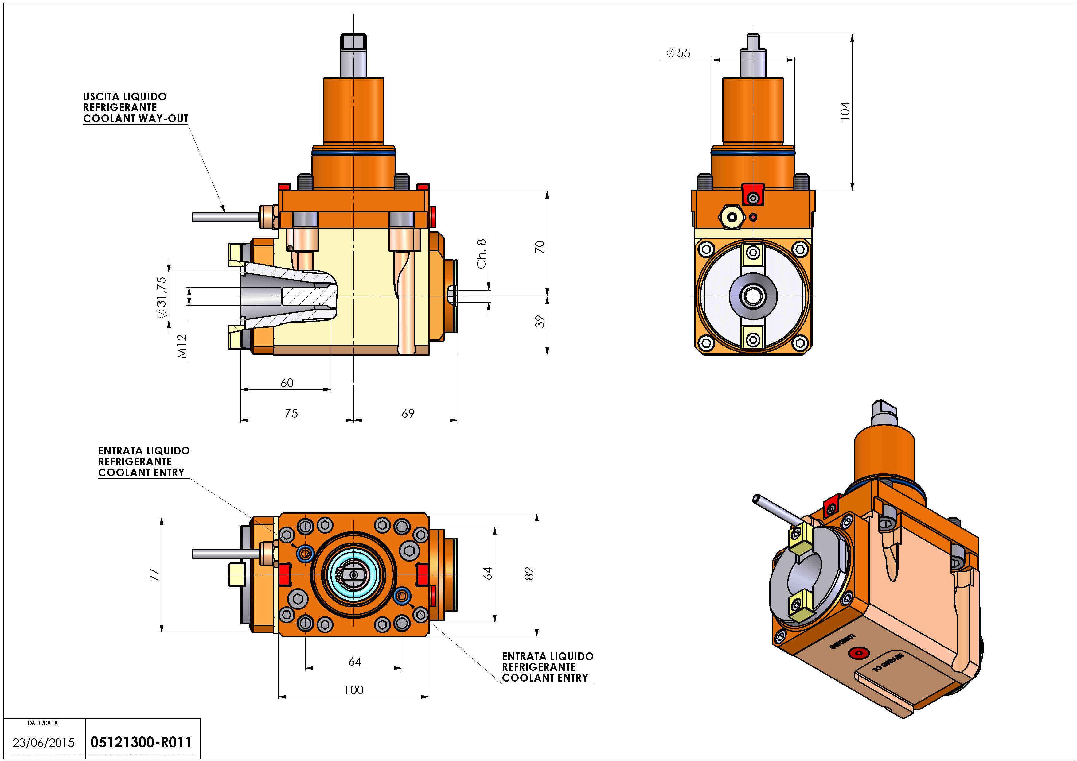 Technical image - LT-A BMT55 ISO-BT30 L-R H70.