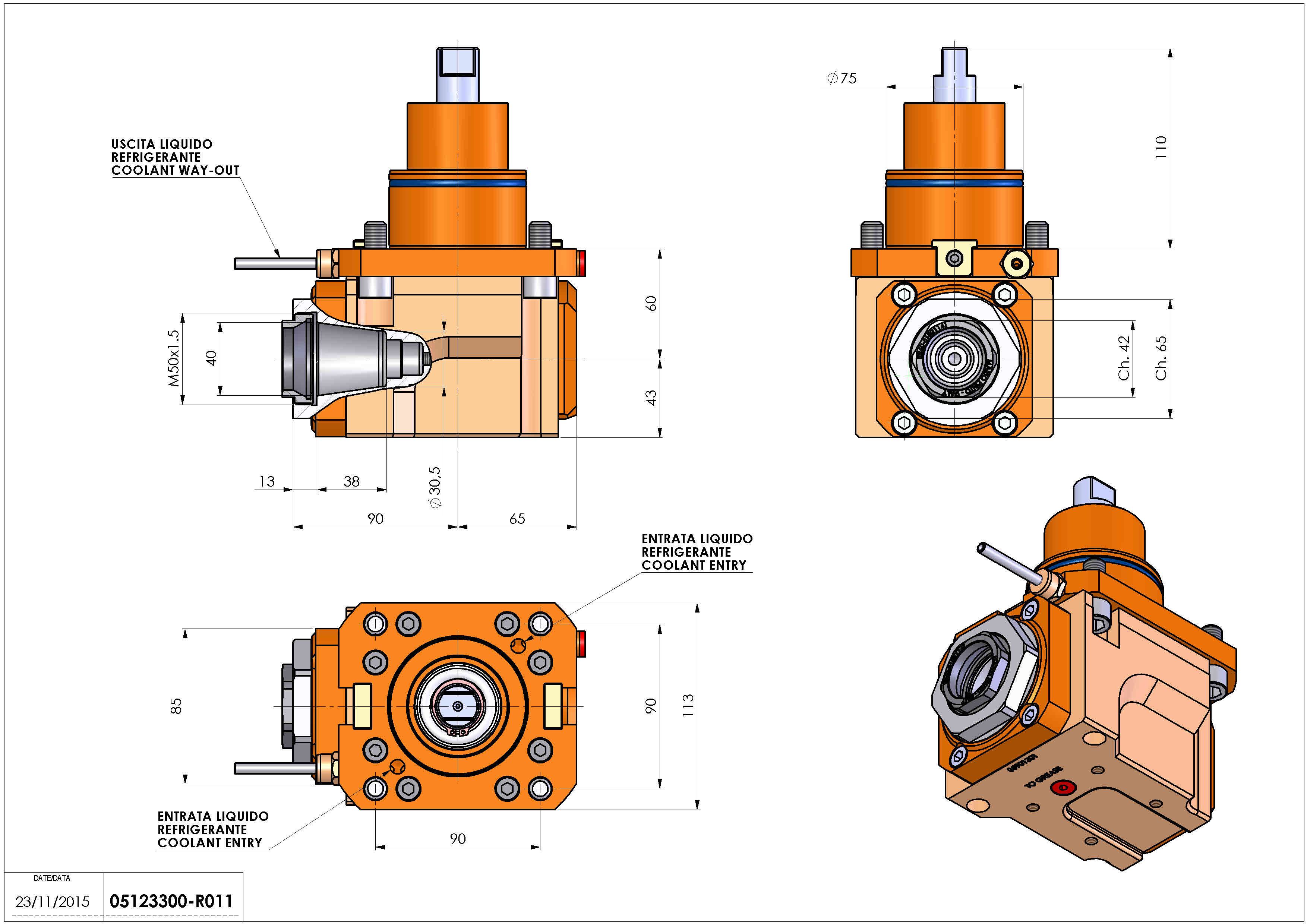 Technical image - LT-A BMT75 ER40-F H60 DW.