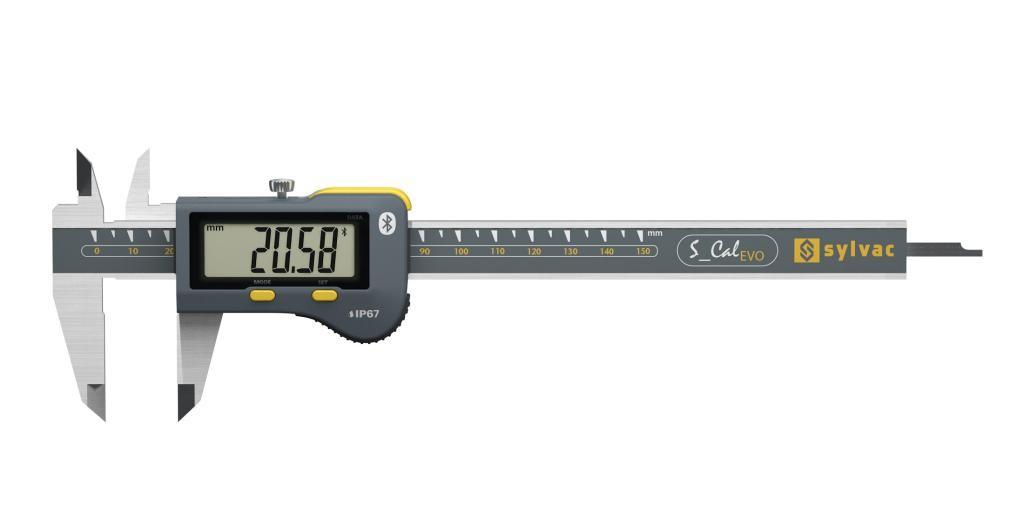 Sylvac 30-810-15B IP67 S_CAL EVO Bluetooth 4.0 Caliper.